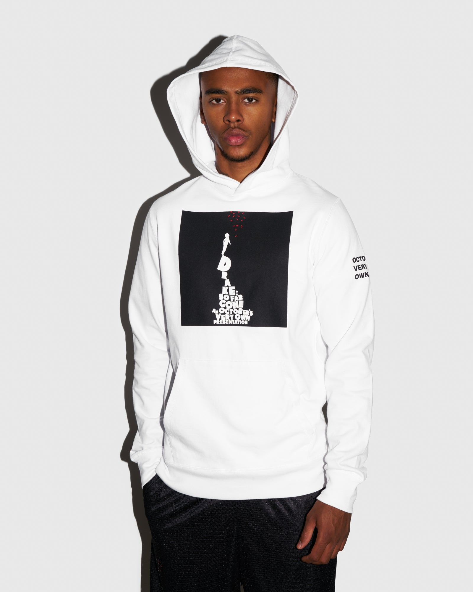 SO FAR GONE HOODIE - WHITE IMAGE #2