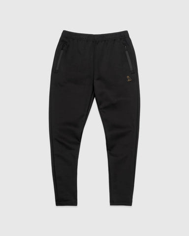 OVO ESSENTIALS INTERLOCK PANT - BLACK