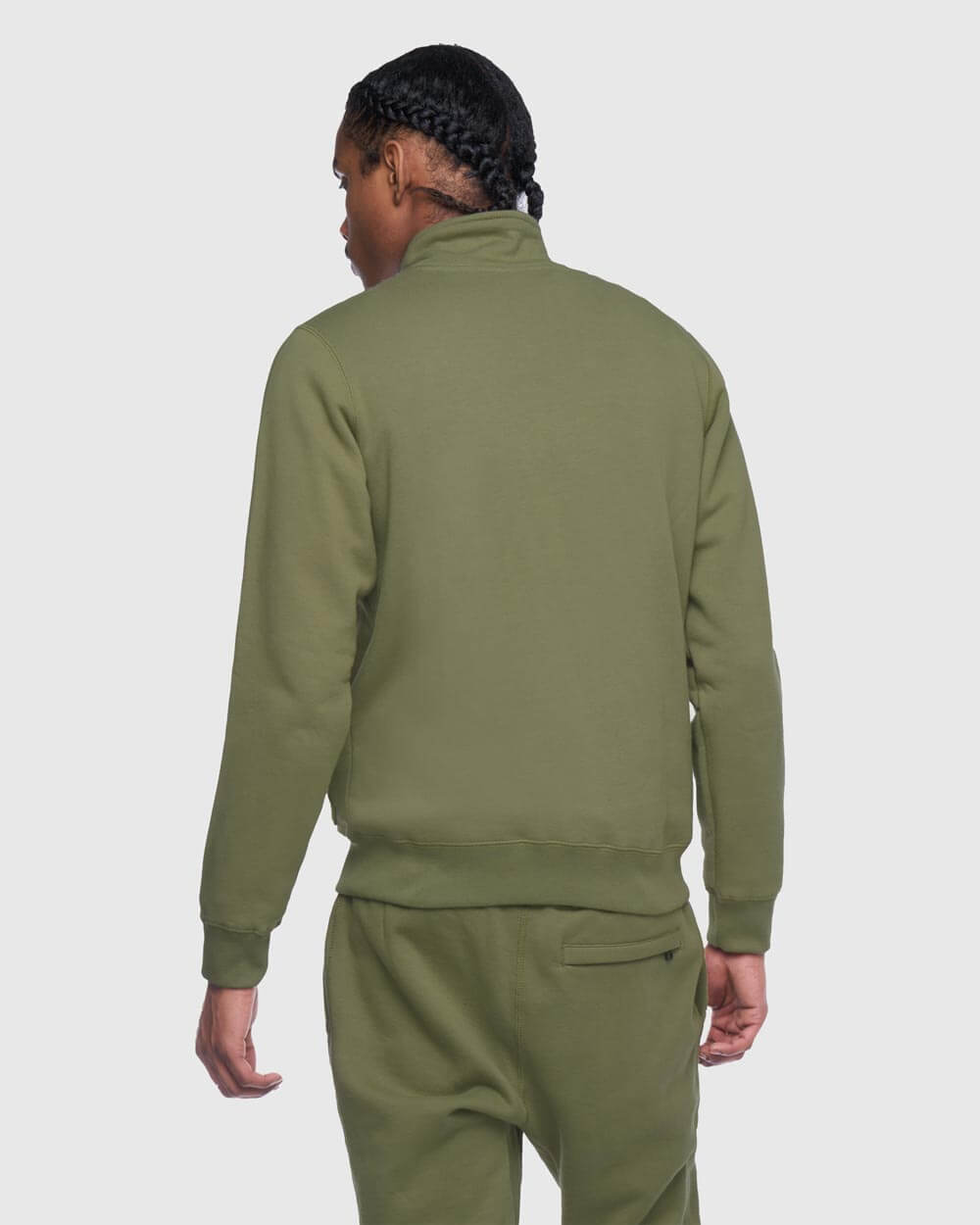 OVO THERMAL TRACK JACKET - ALPHA GREEN