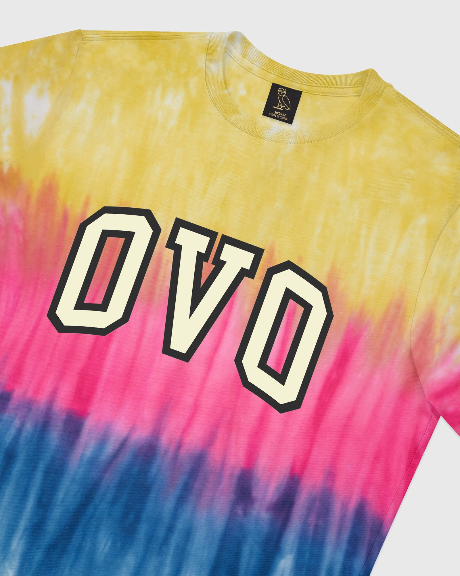 TIE DYE ARCH T-SHIRT - MULTI COLOUR IMAGE #4