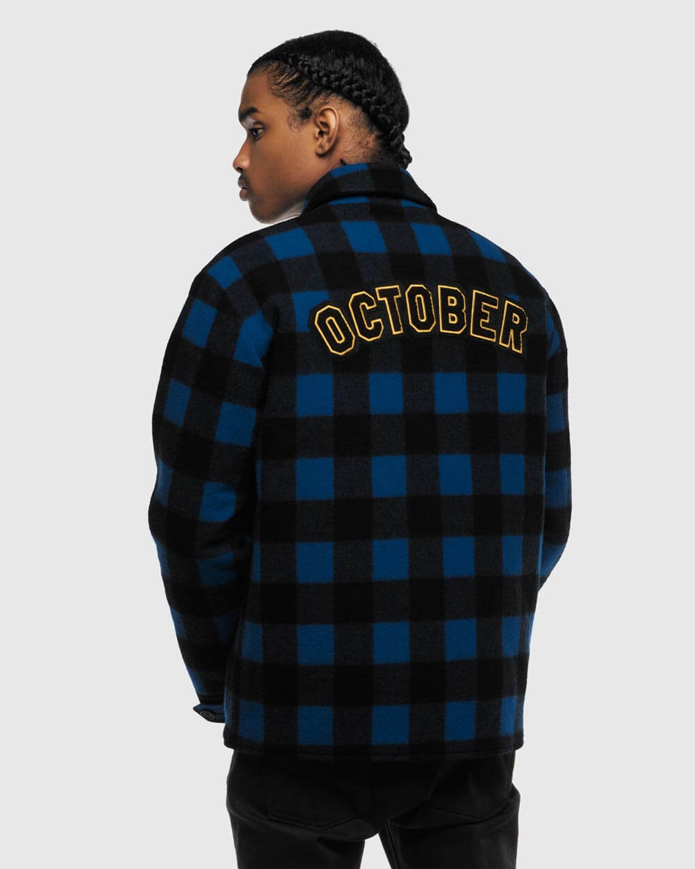 OVO x WOOLRICH MUSKOKA DINNER JACKET - BLUE