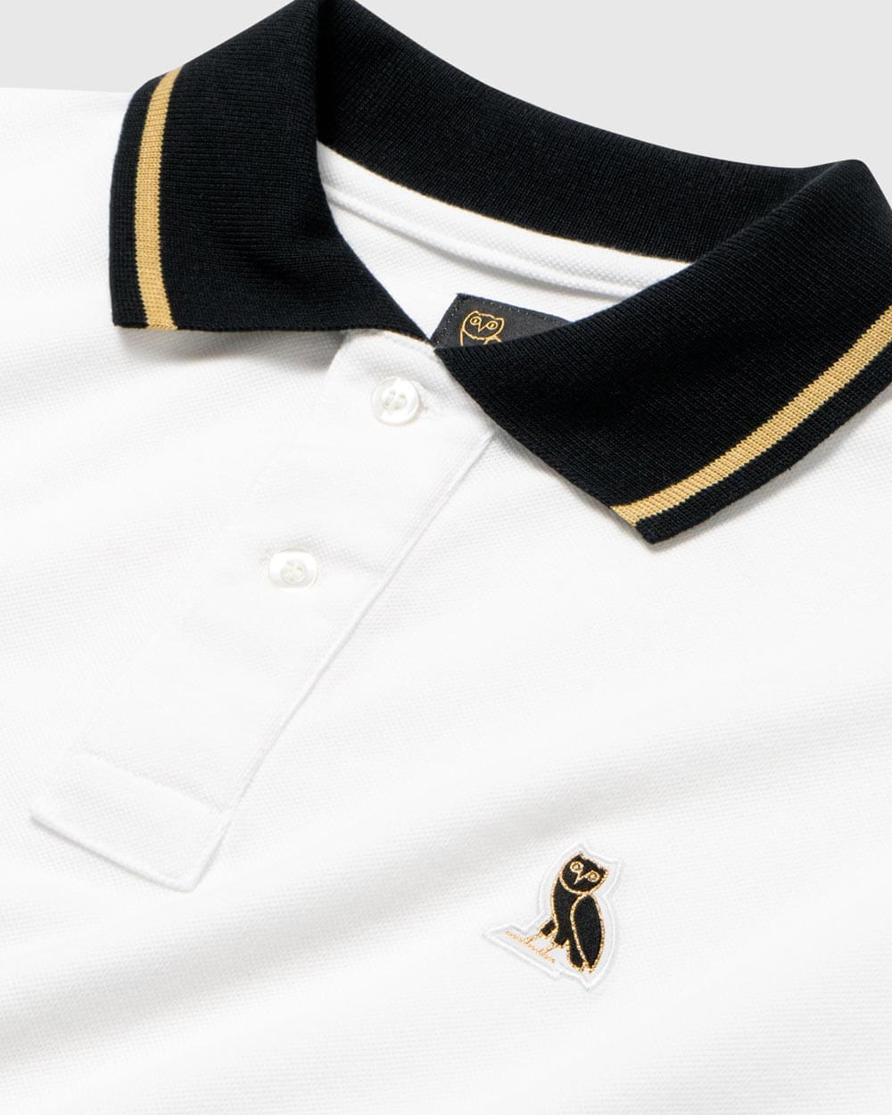 OVO ESSENTIALS POLO - WHITE IMAGE #4