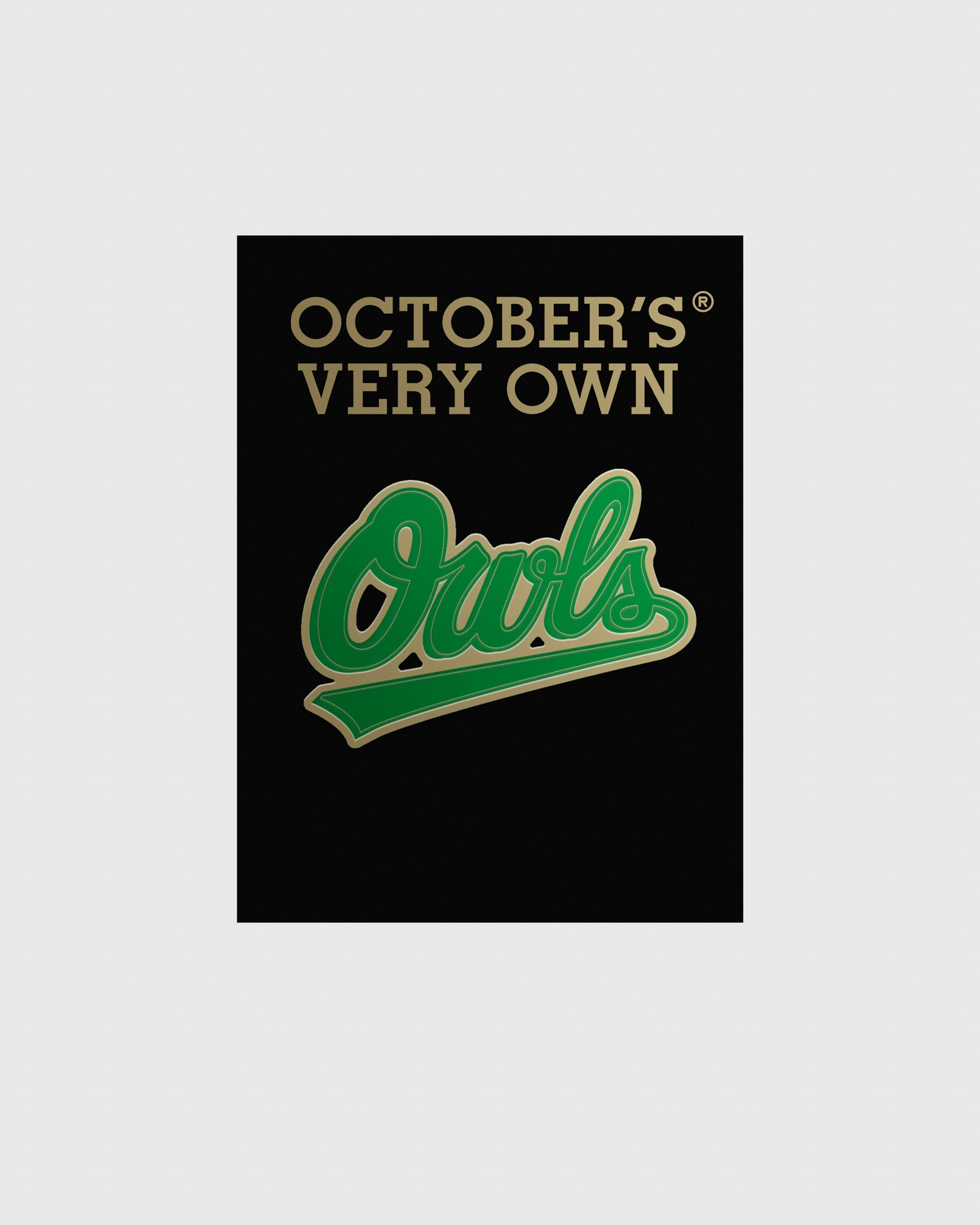 OVO OWLS PIN - GREEN IMAGE #2