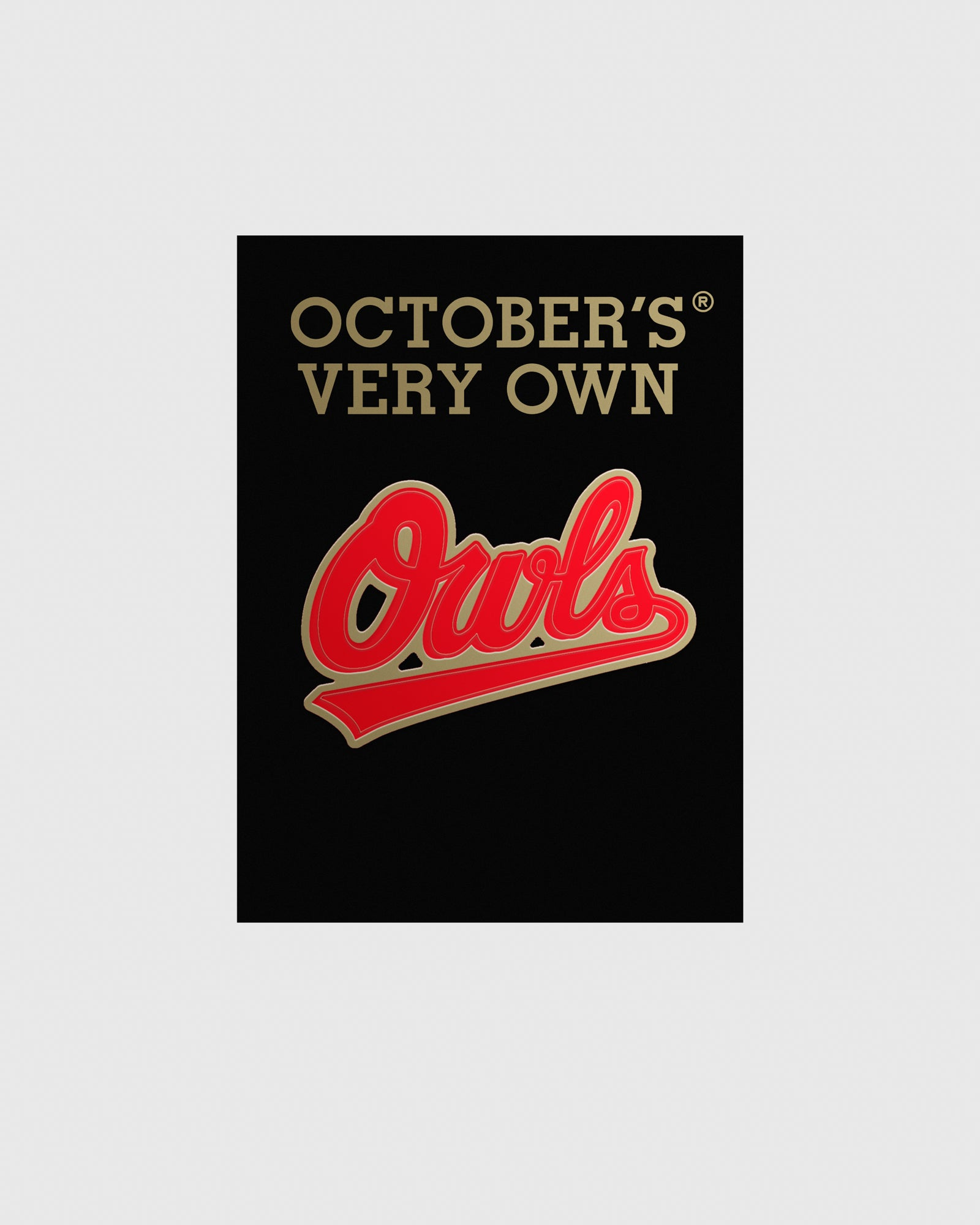 OVO OWLS PIN - RED