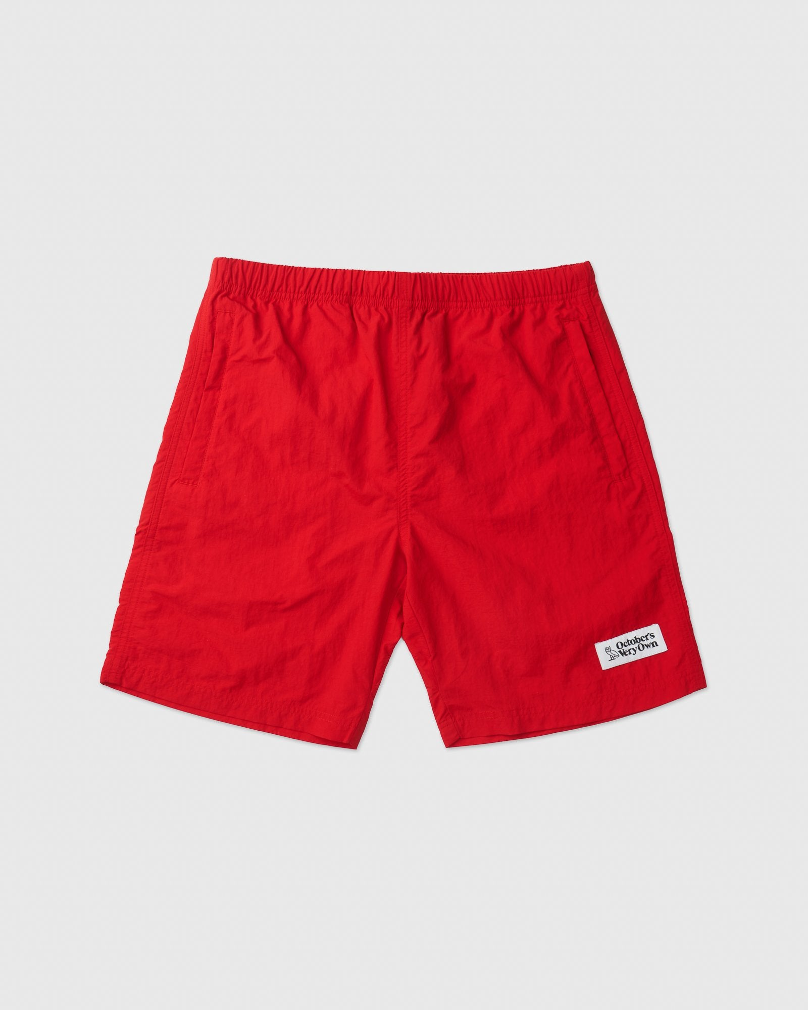 ALL PURPOSE NYLON SHORT - RED IMAGE #1