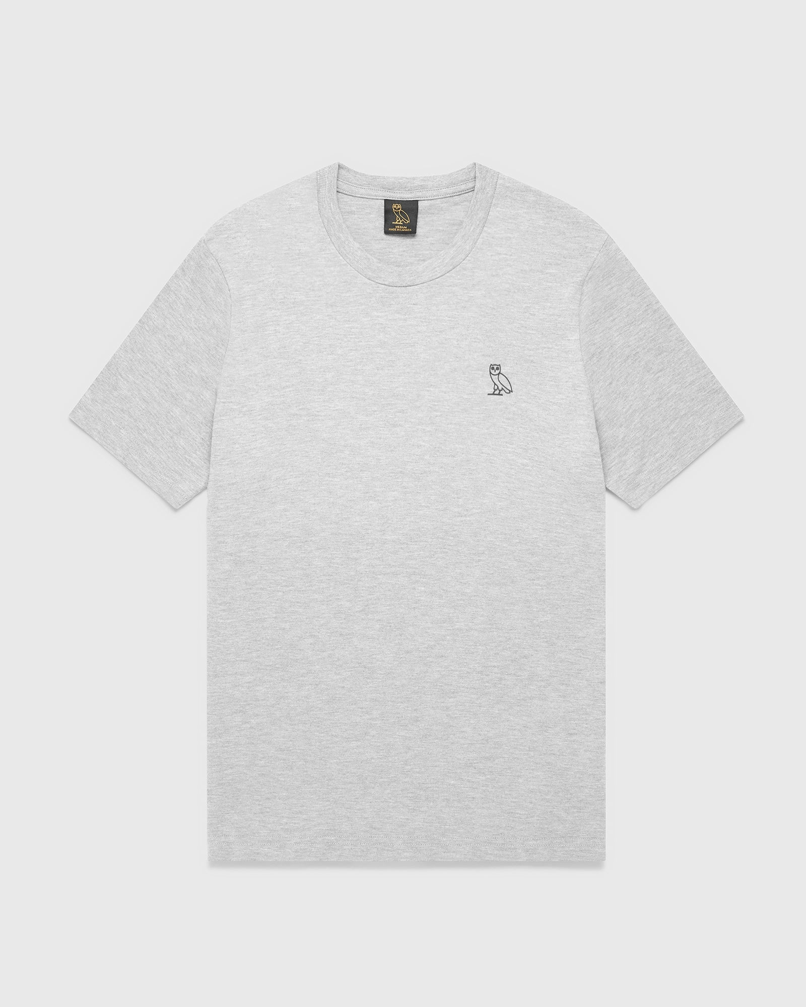 OVO ESSENTIALS T-SHIRT - HEATHER GREY IMAGE #1