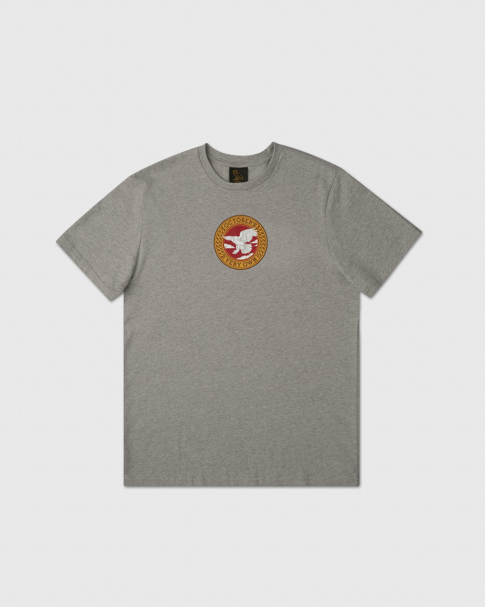 BIRD OF PREY EMBLEM T-SHIRT - HEATHER GREY IMAGE #1