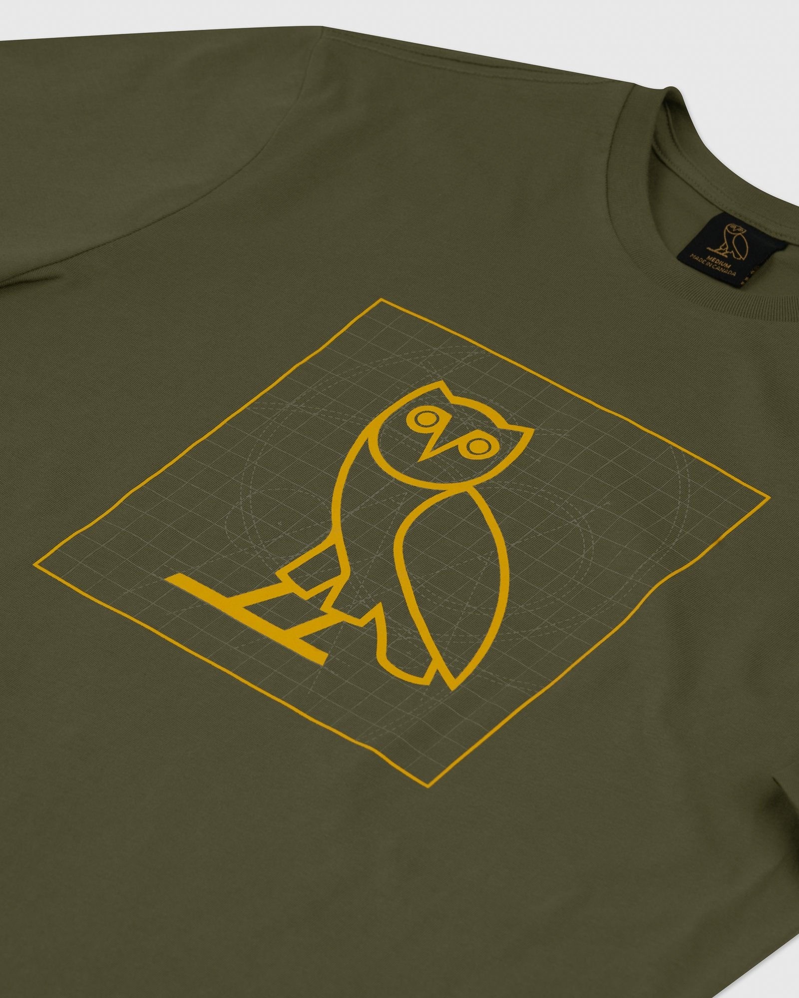 BLUEPRINT OWL T-SHIRT - VINE IMAGE #2