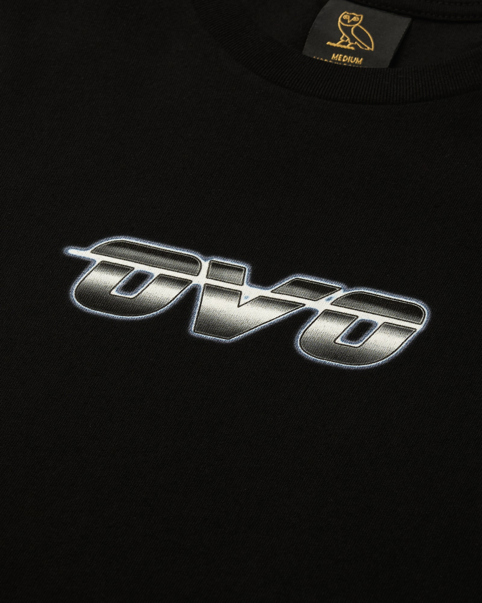 CHROME RUNNER T-SHIRT - BLACK IMAGE #2