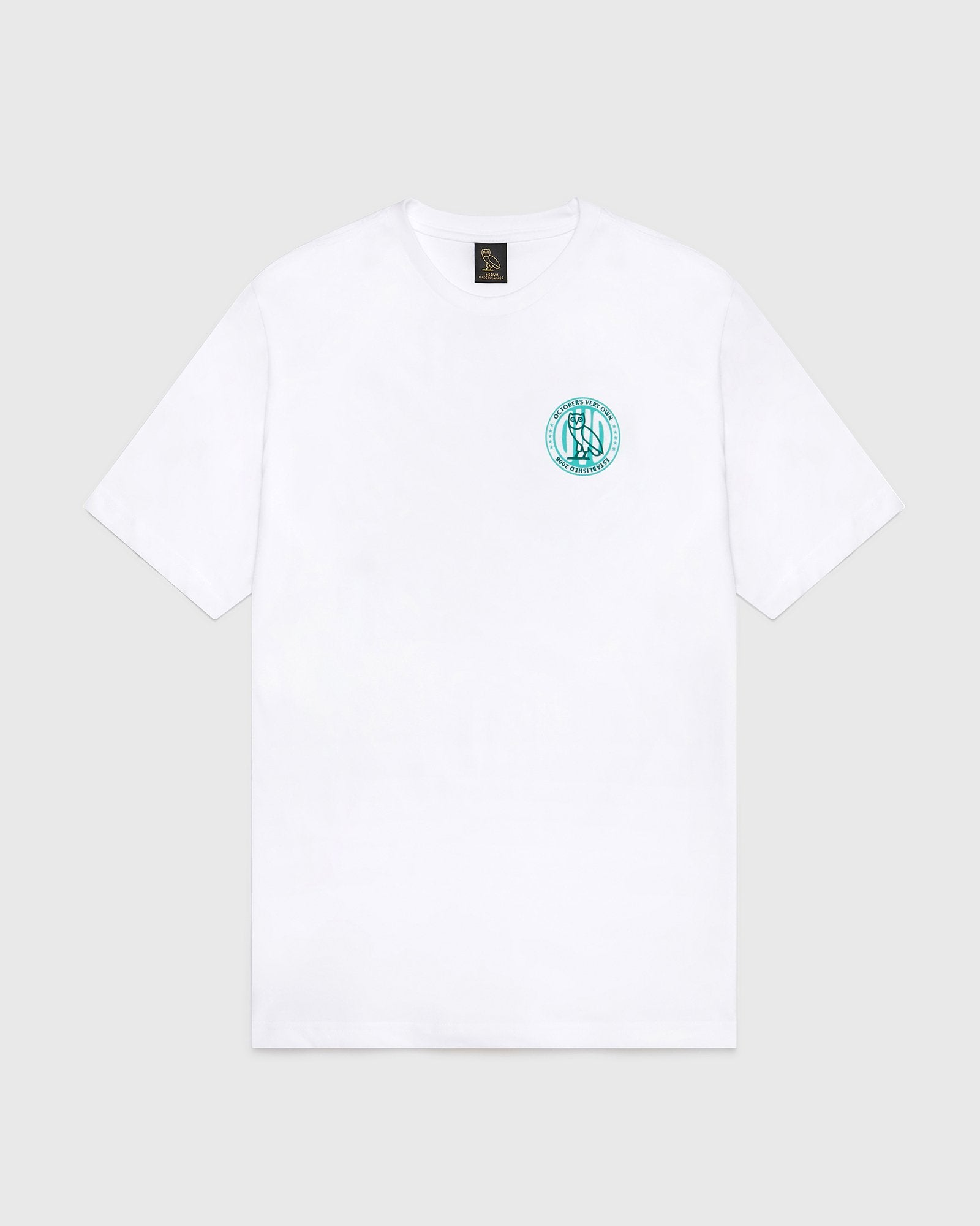 CIRCLE OVO STARS T-SHIRT - WHITE IMAGE #2