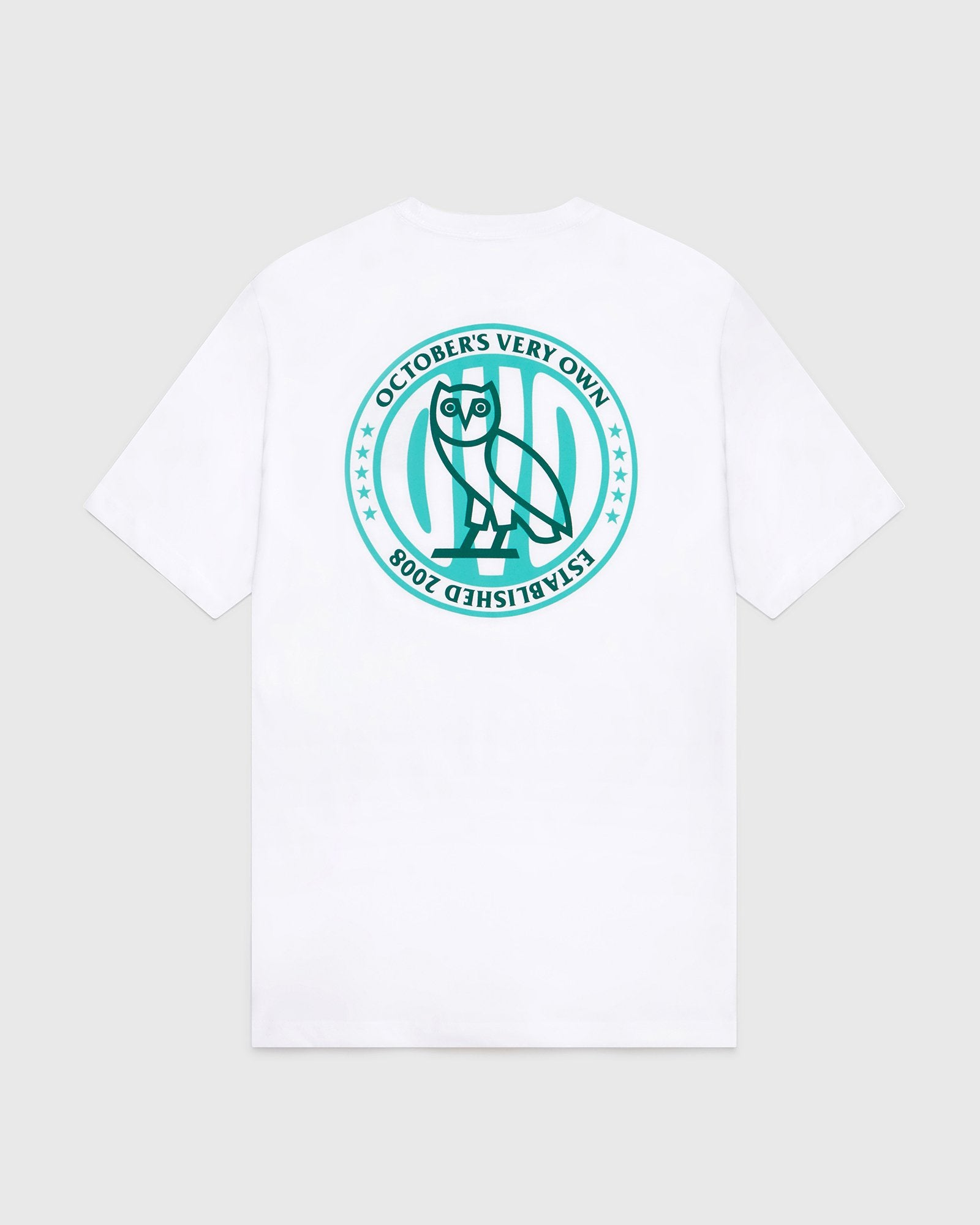 CIRCLE OVO STARS T-SHIRT - WHITE IMAGE #1