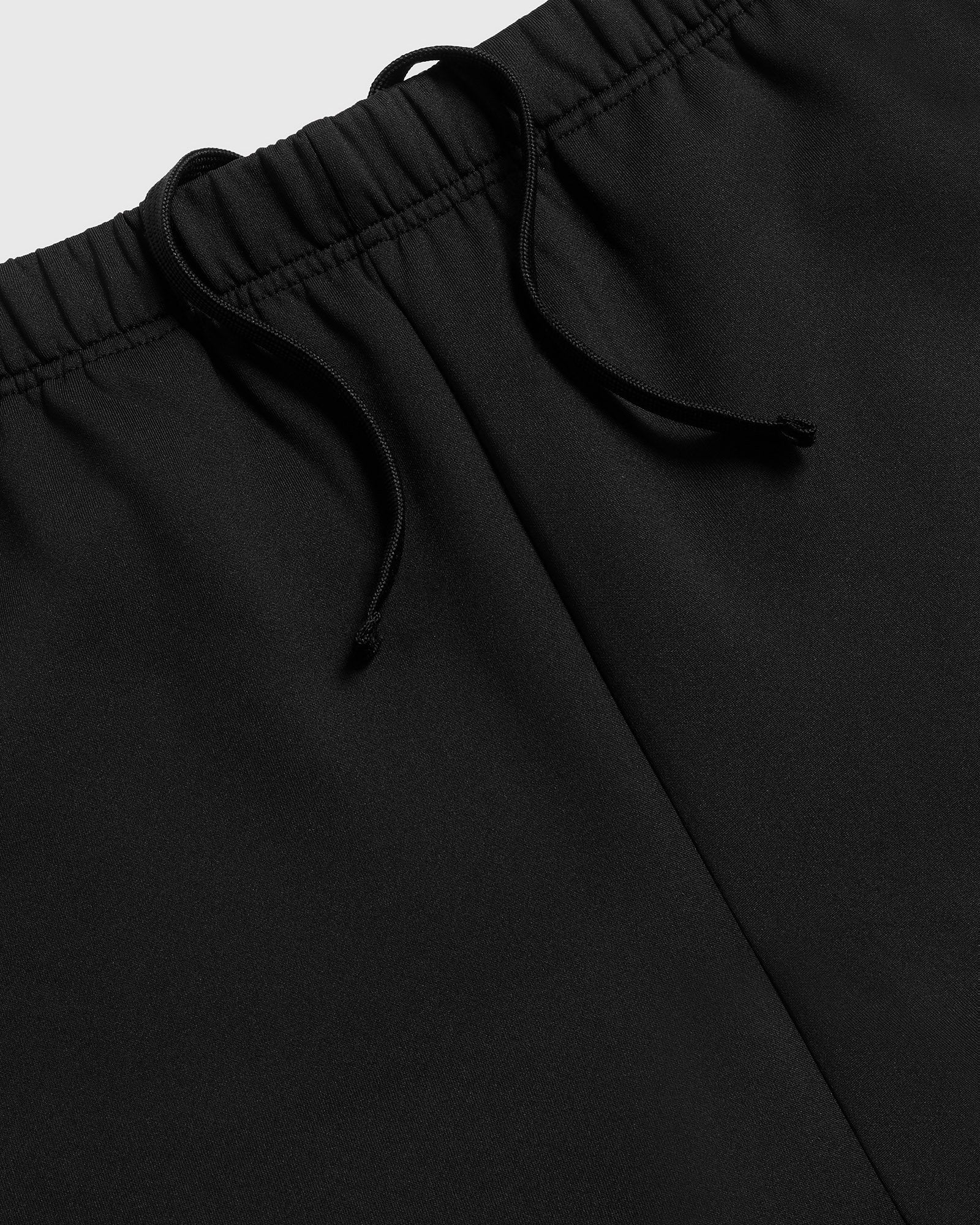 DOUBLE KNIT TRACK PANT - BLACK IMAGE #3