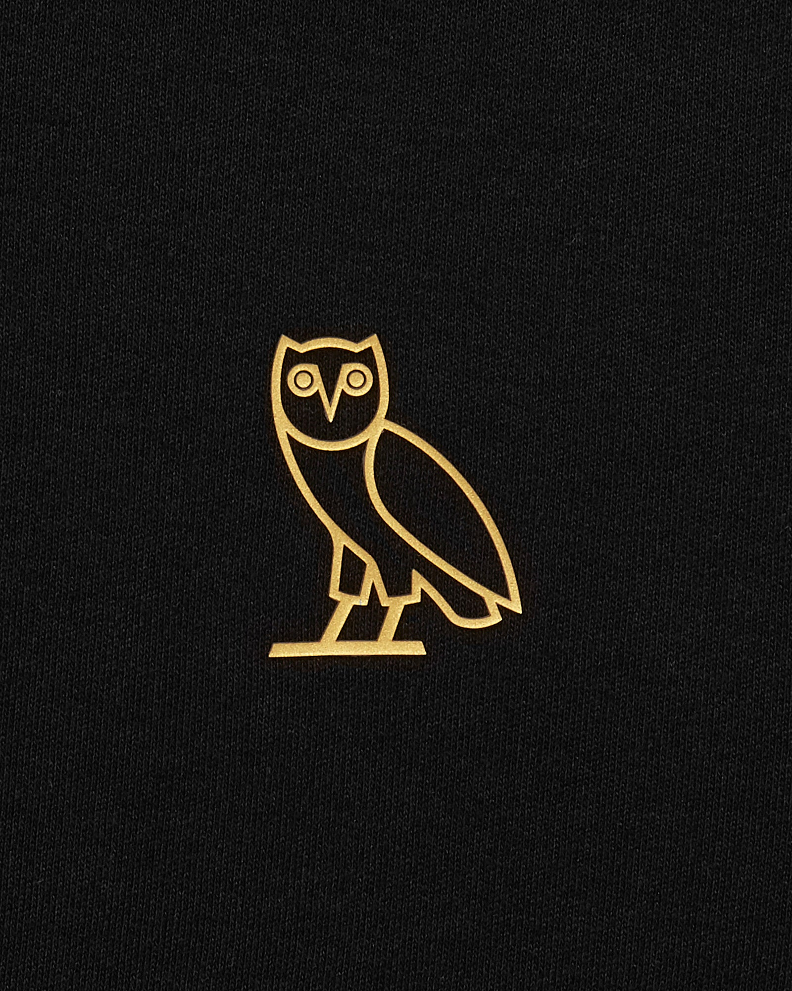 OVO ESSENTIALS ZIP HOODIE - BLACK IMAGE #3