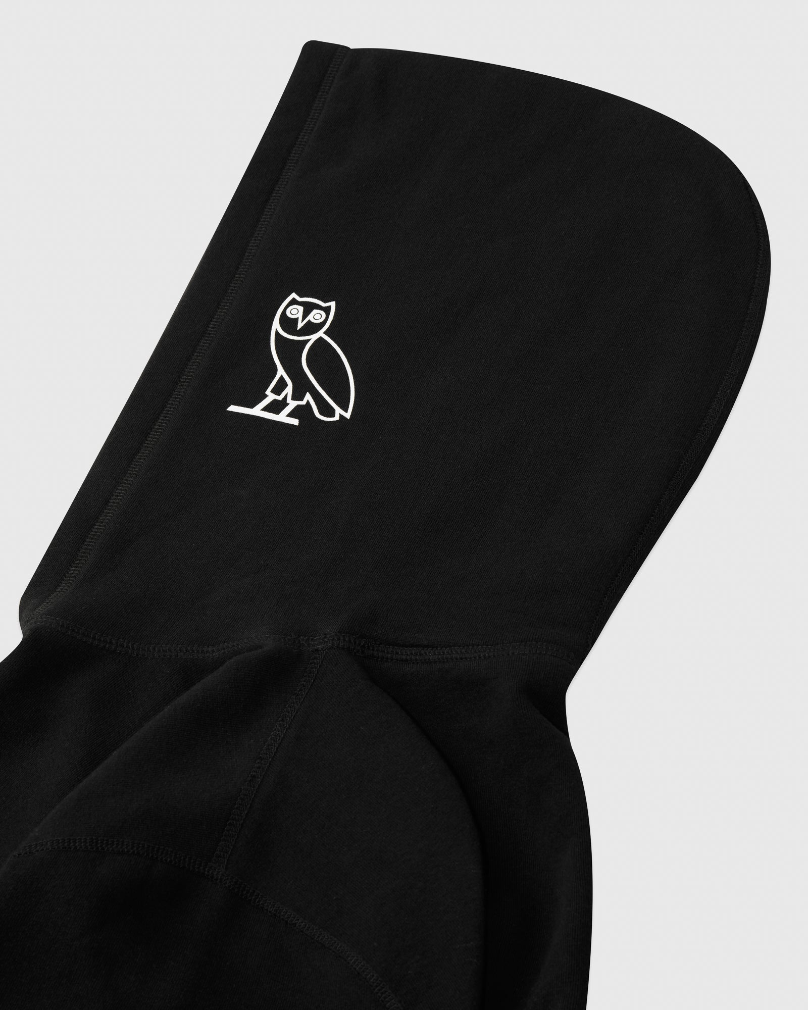 FAMILIA EMBROIDERED POCKET HOODIE - BLACK IMAGE #6