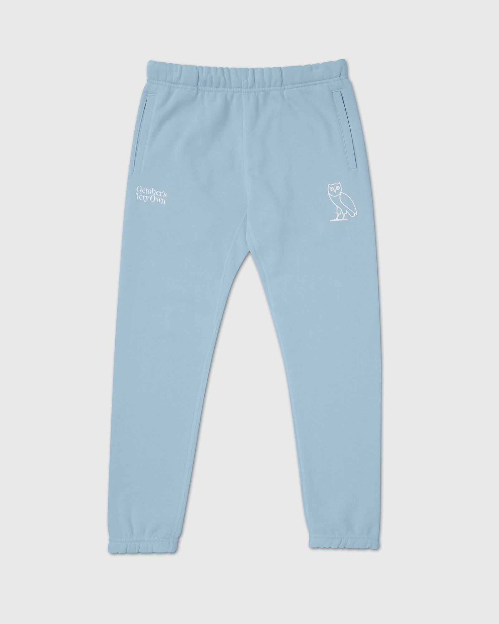 FAMILIA EMBROIDERED SWEATPANT - SKY BLUE IMAGE #1