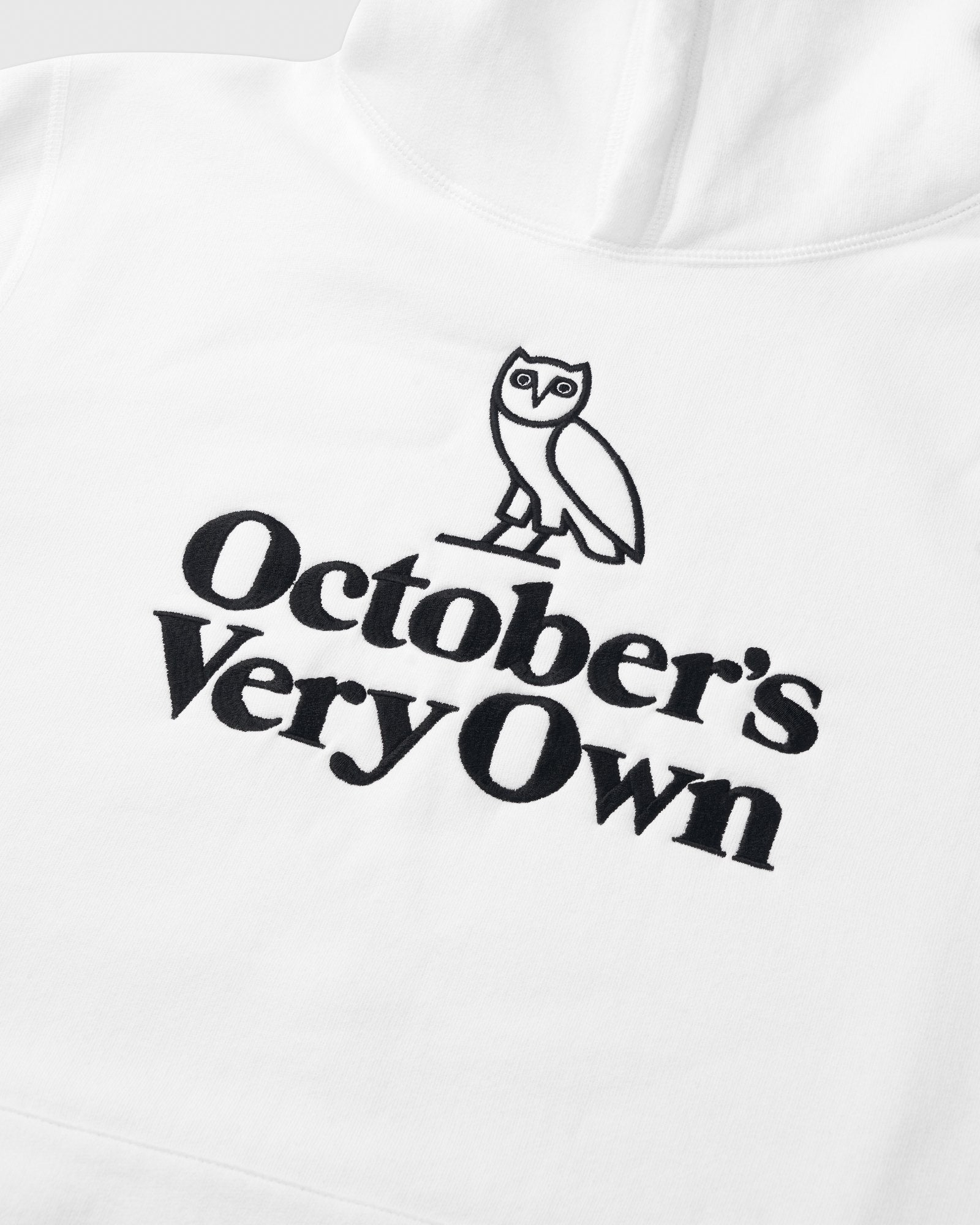 FAMILIA OWL EMBROIDERED HOODIE - WHITE IMAGE #2