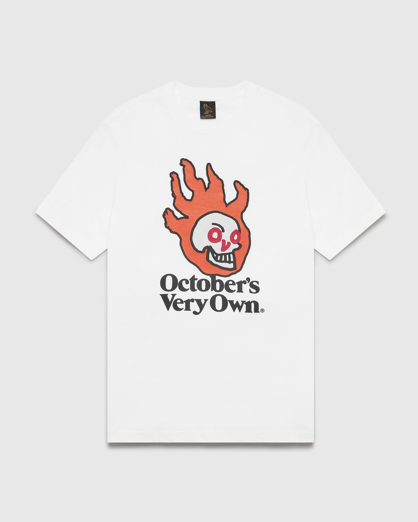 OVO HOT SKULLS™ T-SHIRT - WHITE IMAGE #1