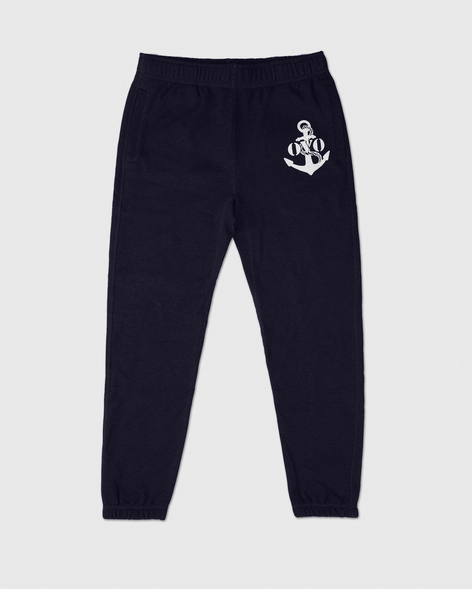 NAUTICAL INDIGO FLEECE SWEATPANT - INDIGO IMAGE #1