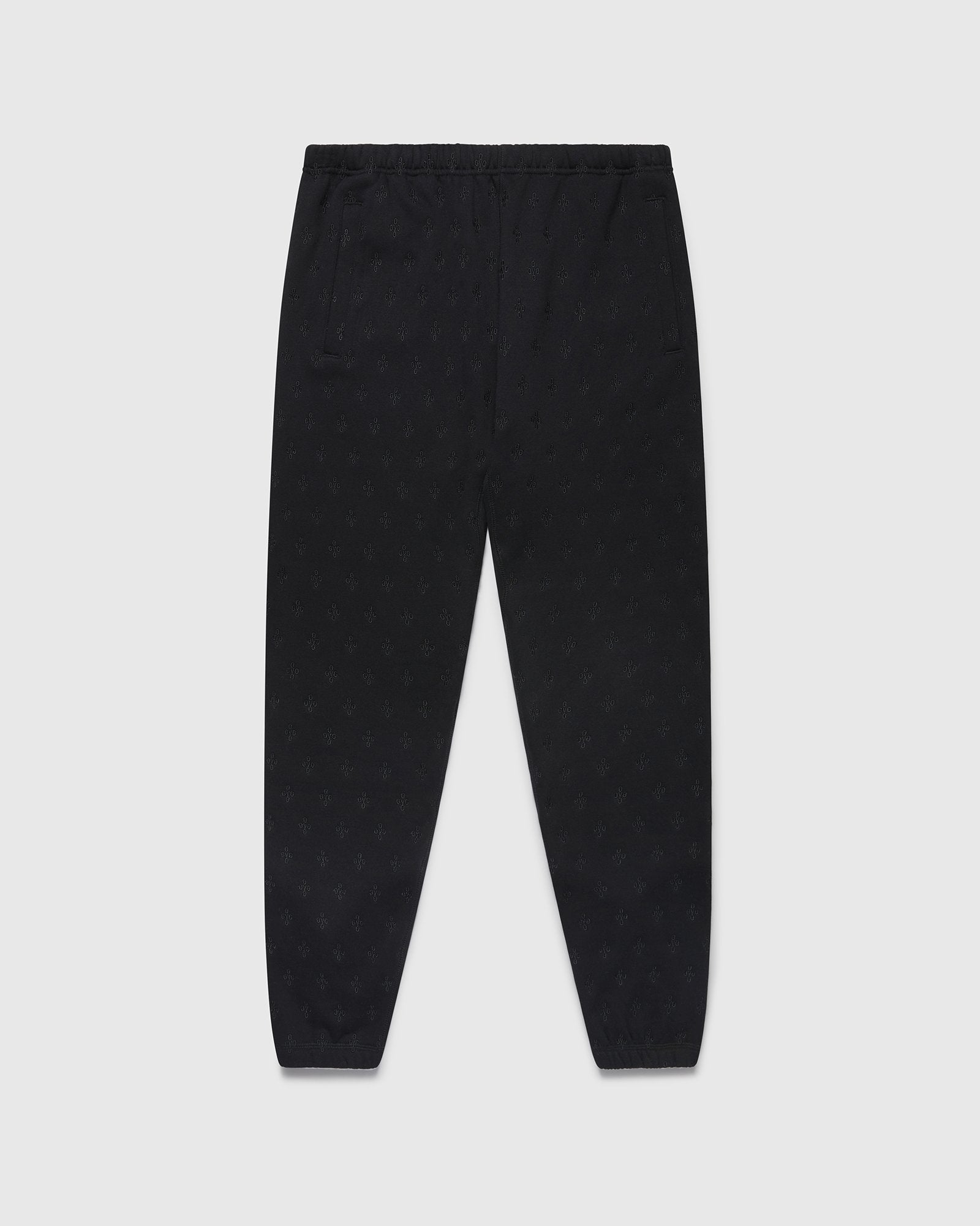 MONOGRAM SWEATPANT - BLACK IMAGE #1