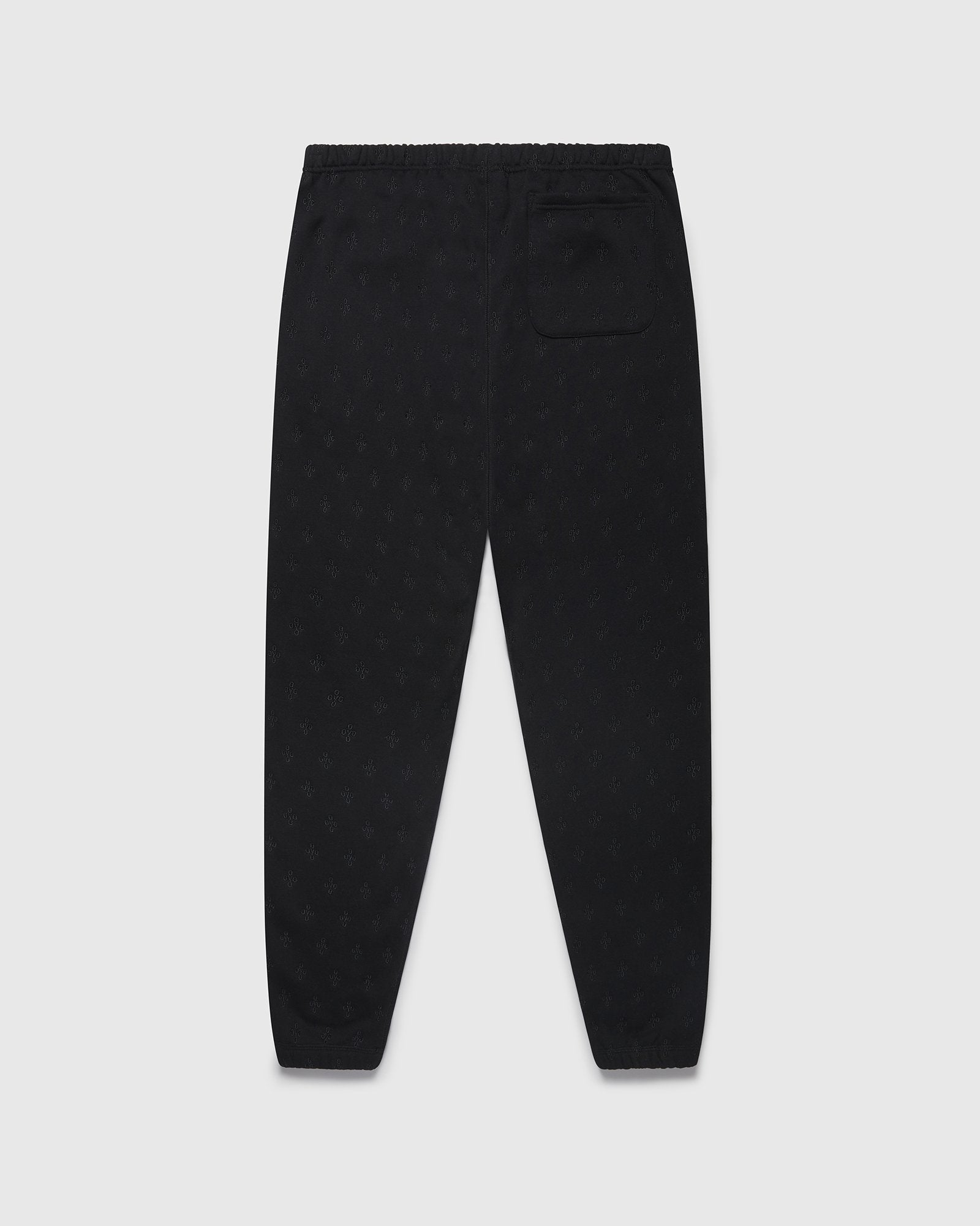 MONOGRAM SWEATPANT - BLACK IMAGE #2