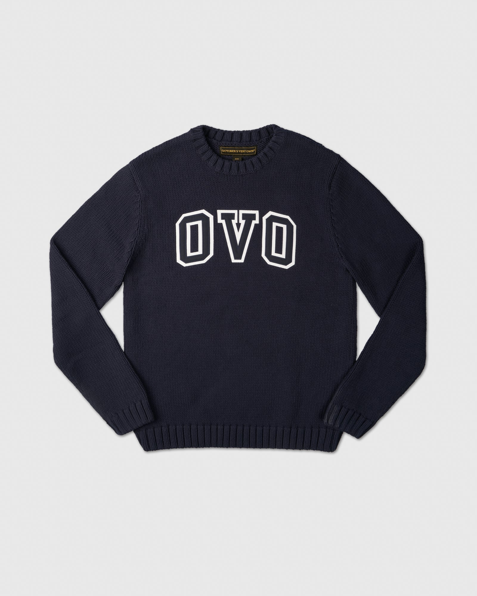 OVO ARCH SWEATER - NAVY IMAGE #1
