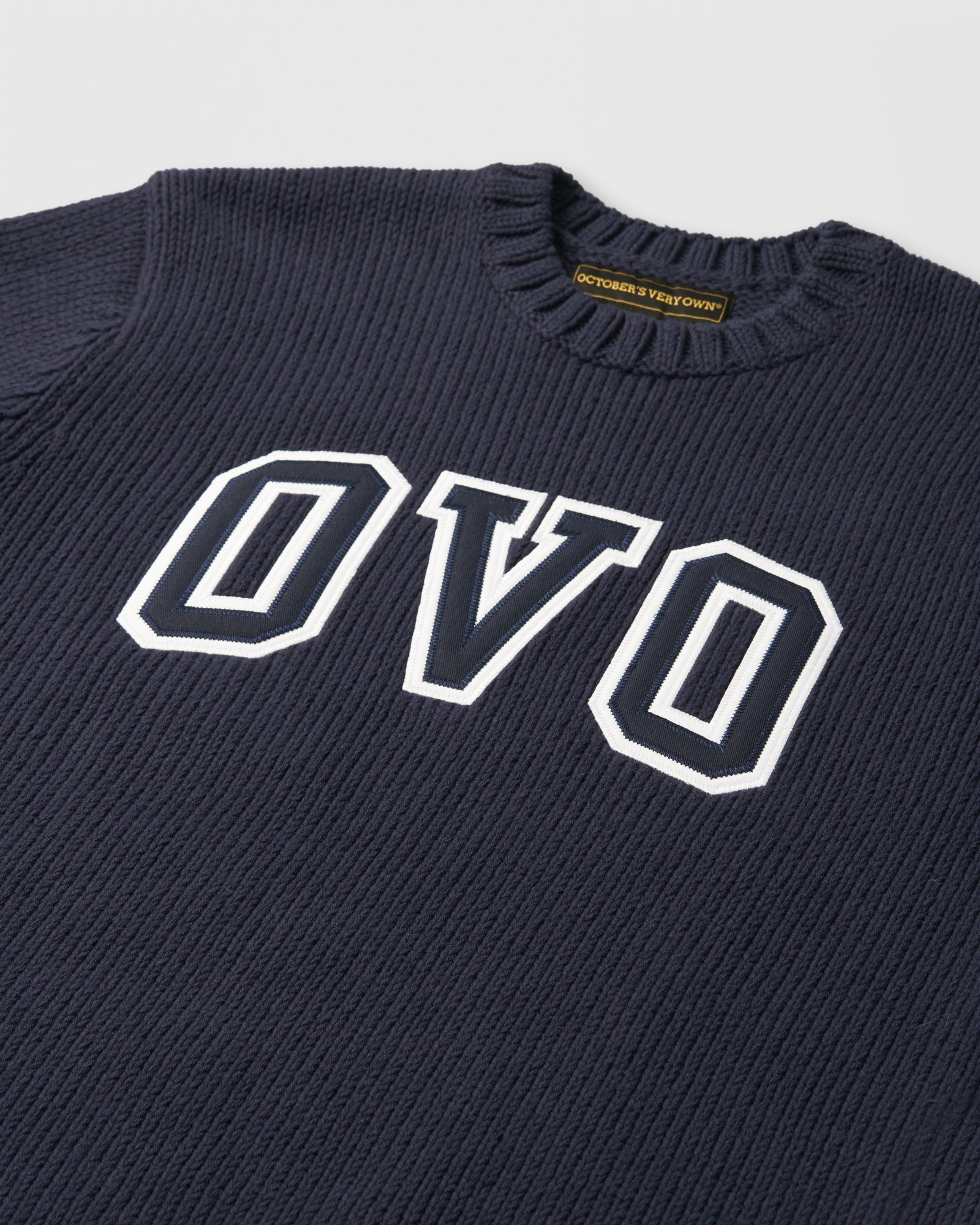 OVO ARCH SWEATER - NAVY IMAGE #2