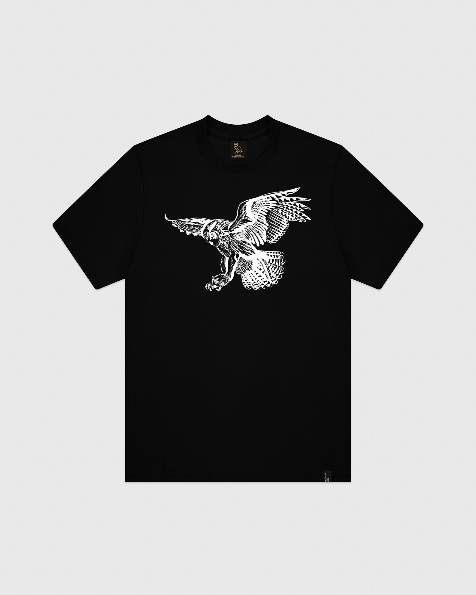 BIRD OF PREY T-SHIRT - BLACK IMAGE #1