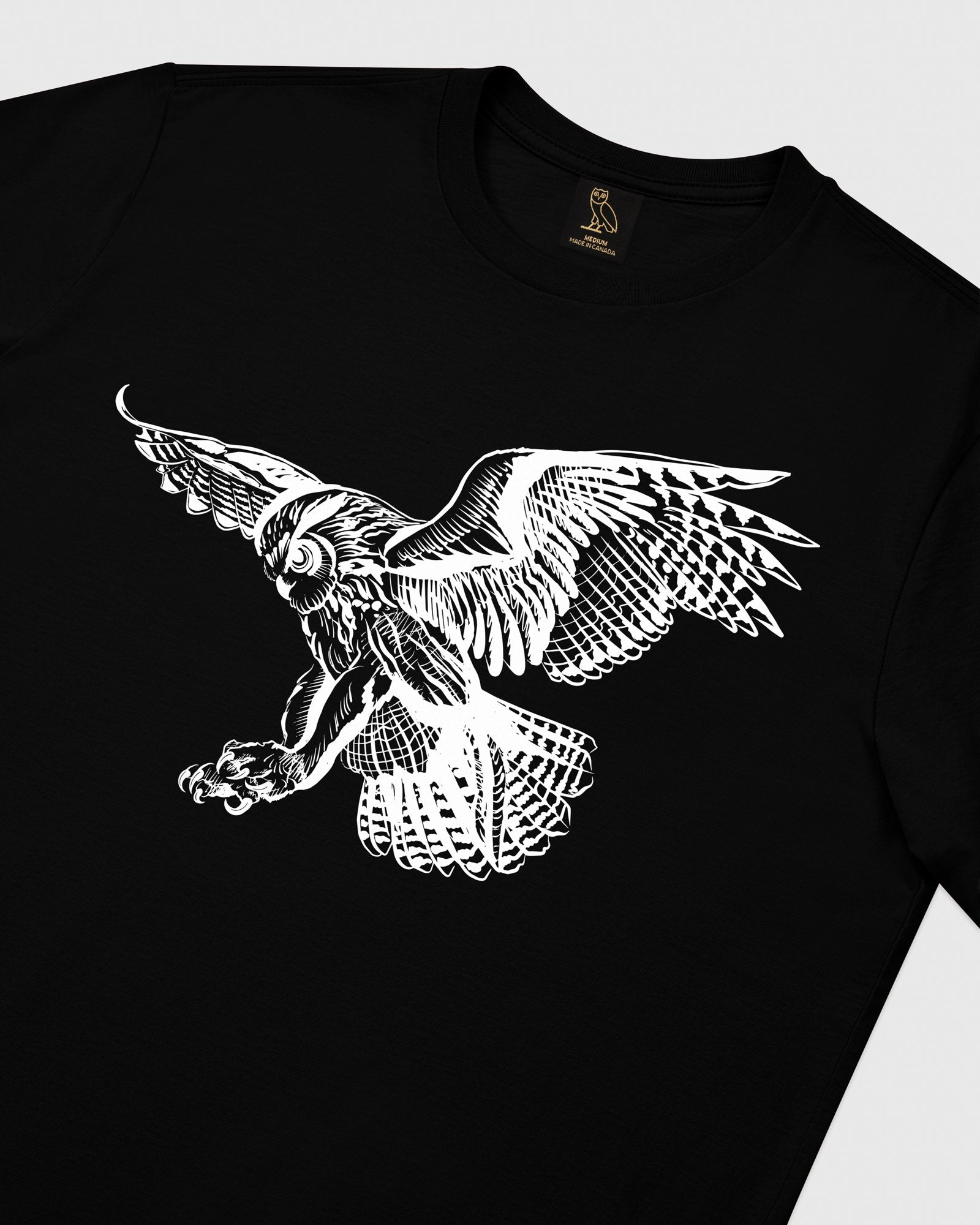 BIRD OF PREY T-SHIRT - BLACK IMAGE #3