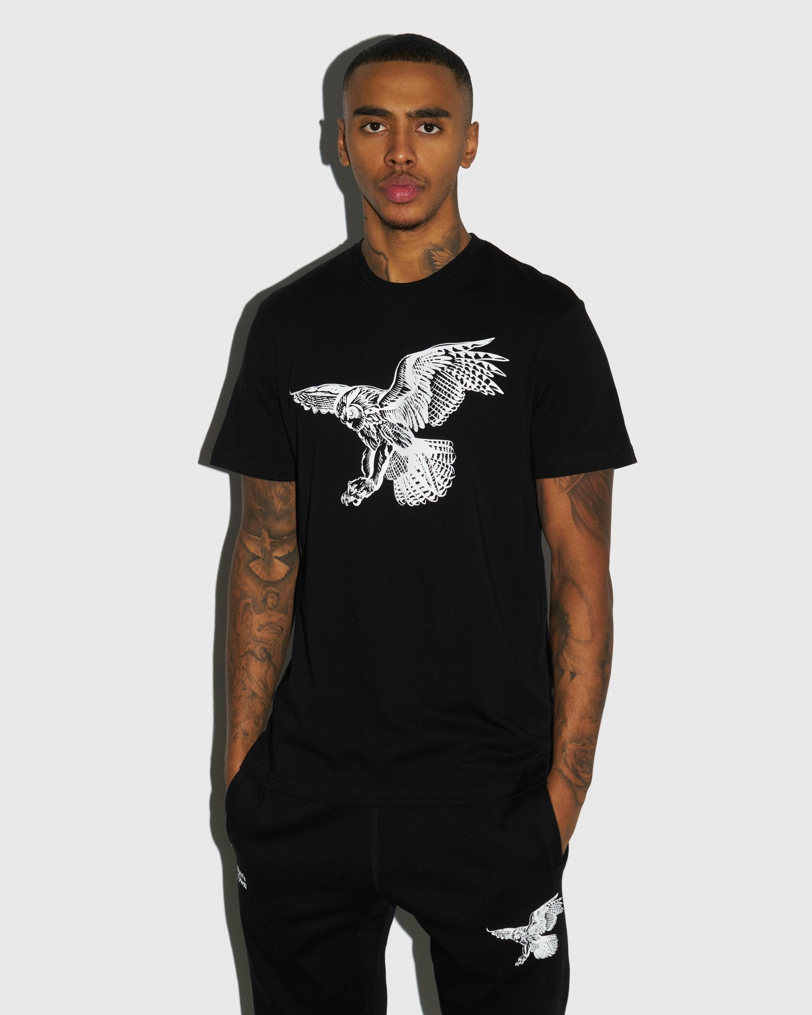 BIRD OF PREY T-SHIRT - BLACK IMAGE #2