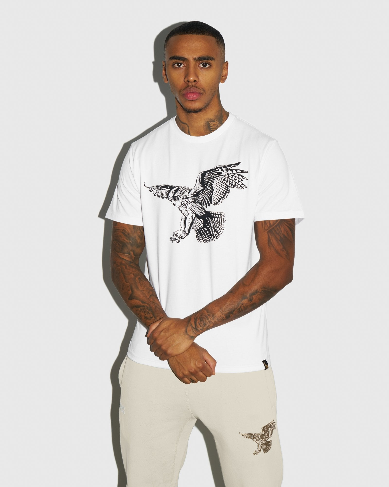 BIRD OF PREY T-SHIRT - WHITE IMAGE #2