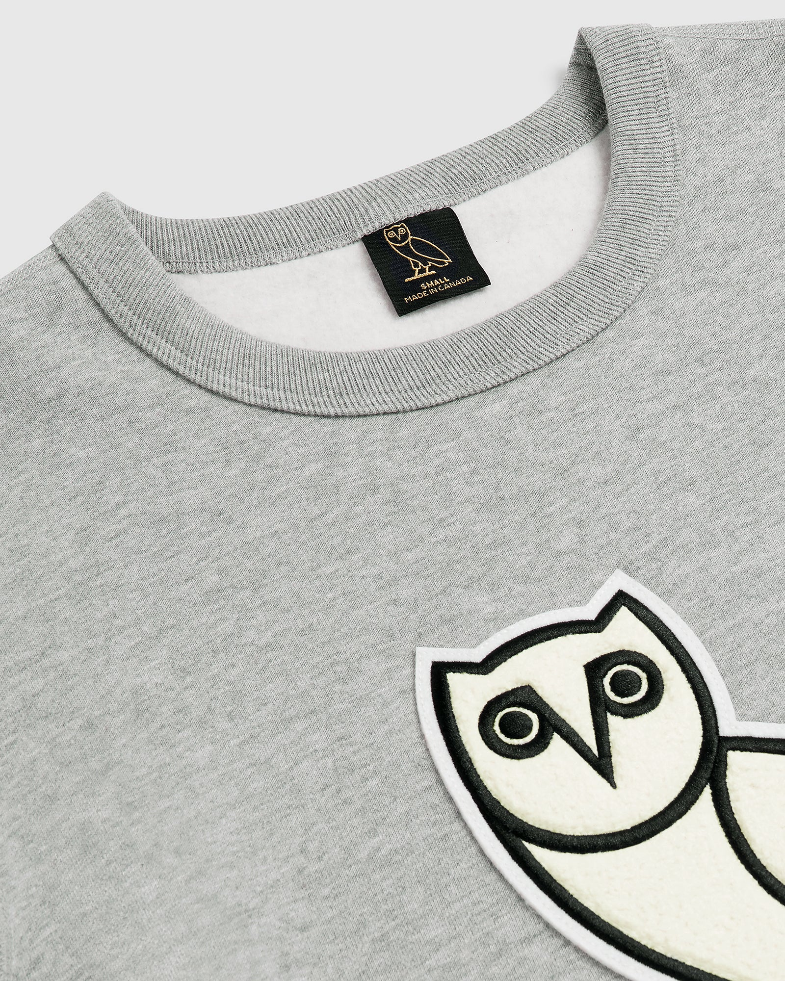 OVO CHENILLE™ WMNS CREWNECK - HEATHER GREY IMAGE #3