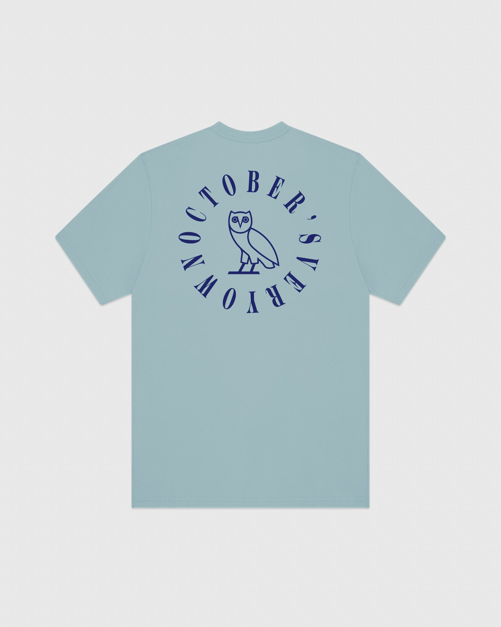 CIRCLE WORDMARK T-SHIRT - SKY BLUE IMAGE #6