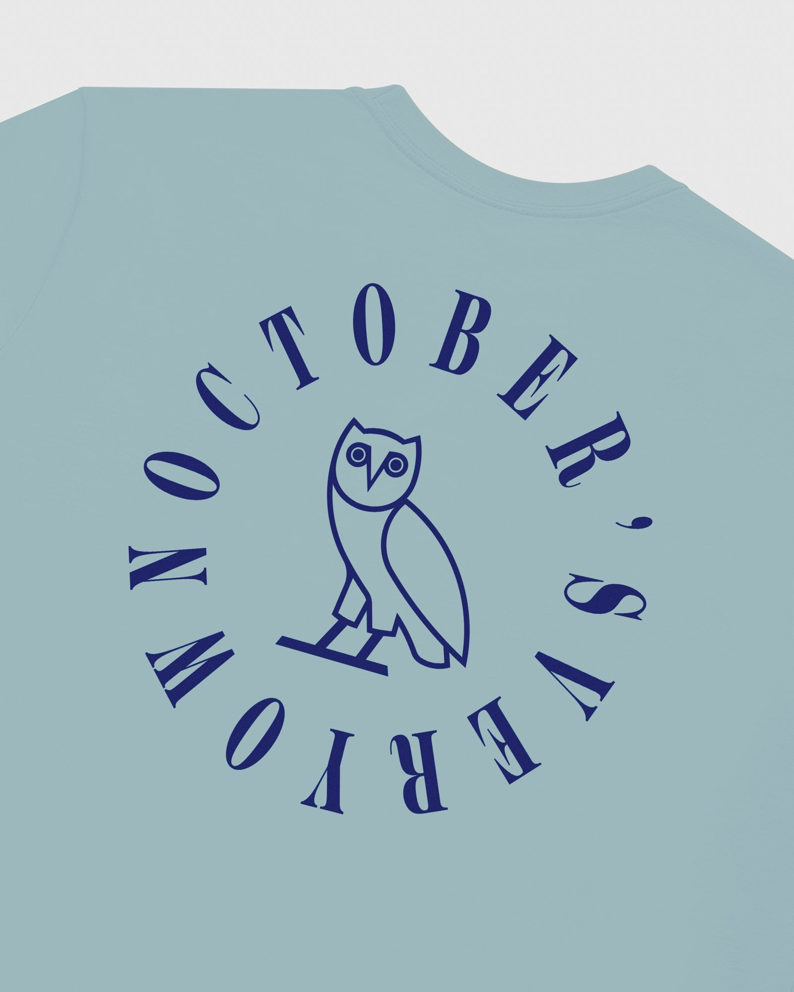 CIRCLE WORDMARK T-SHIRT - SKY BLUE IMAGE #7