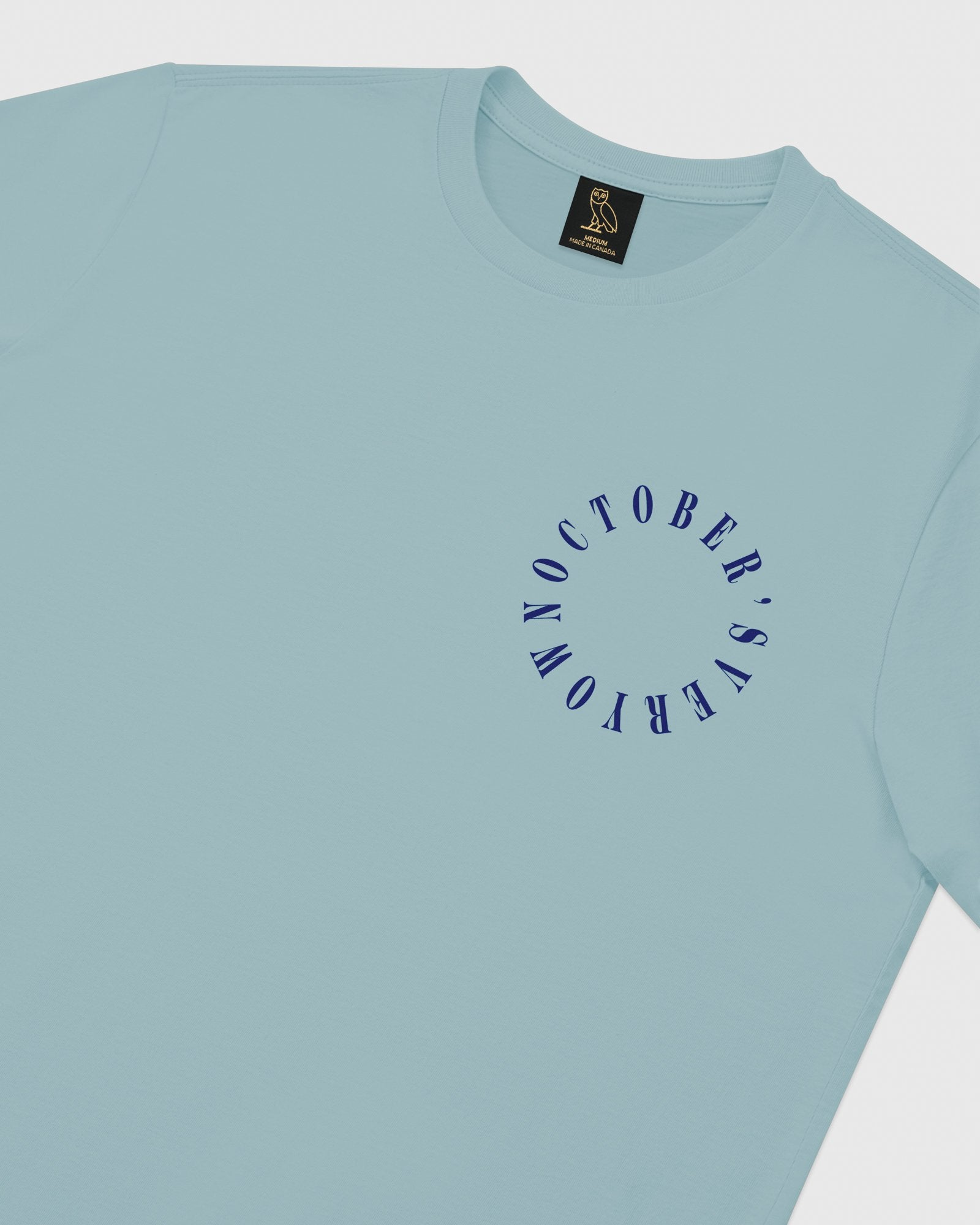 CIRCLE WORDMARK T-SHIRT - SKY BLUE IMAGE #4