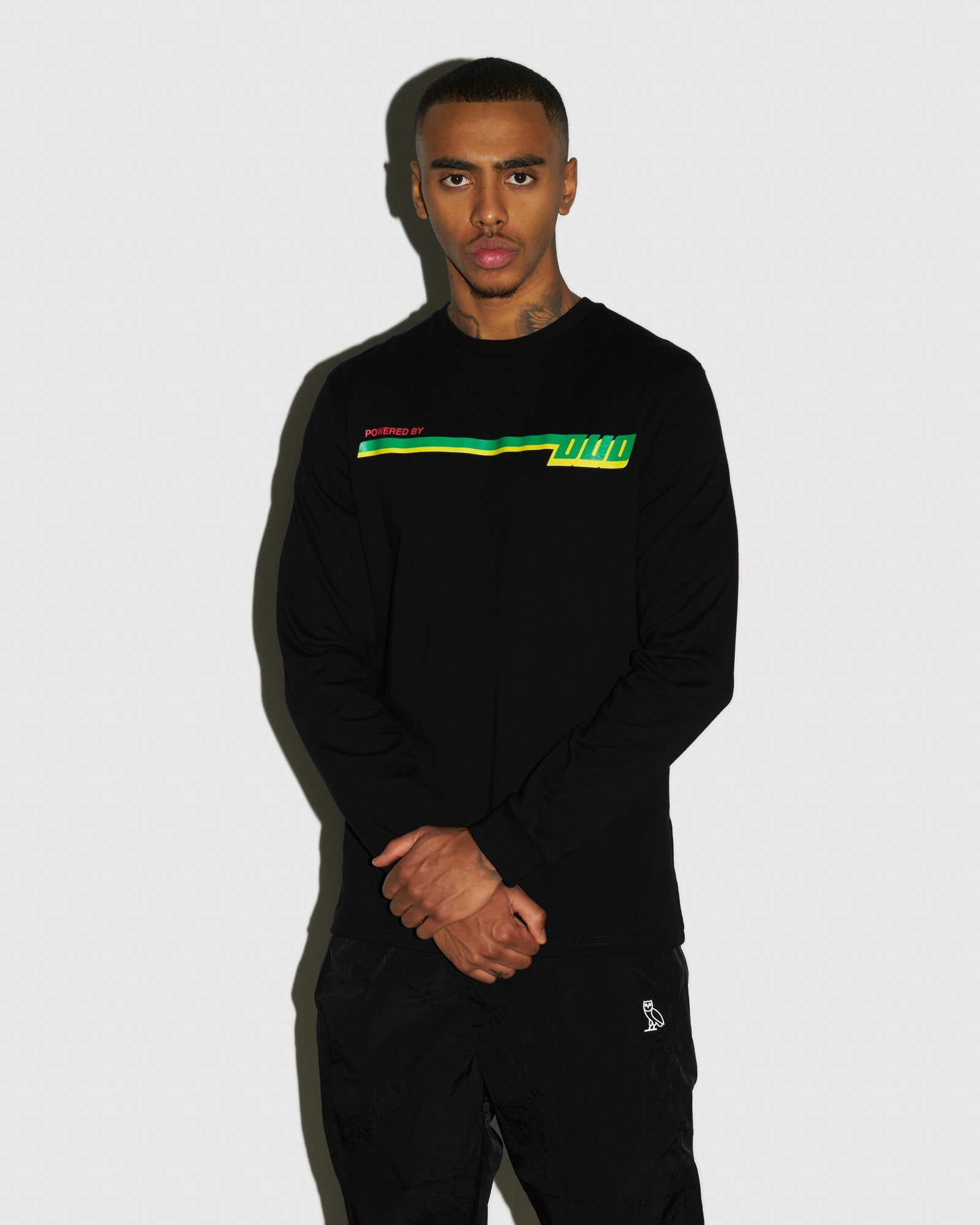 COMPETITION LONGSLEEVE T-SHIRT - BLACK IMAGE #2