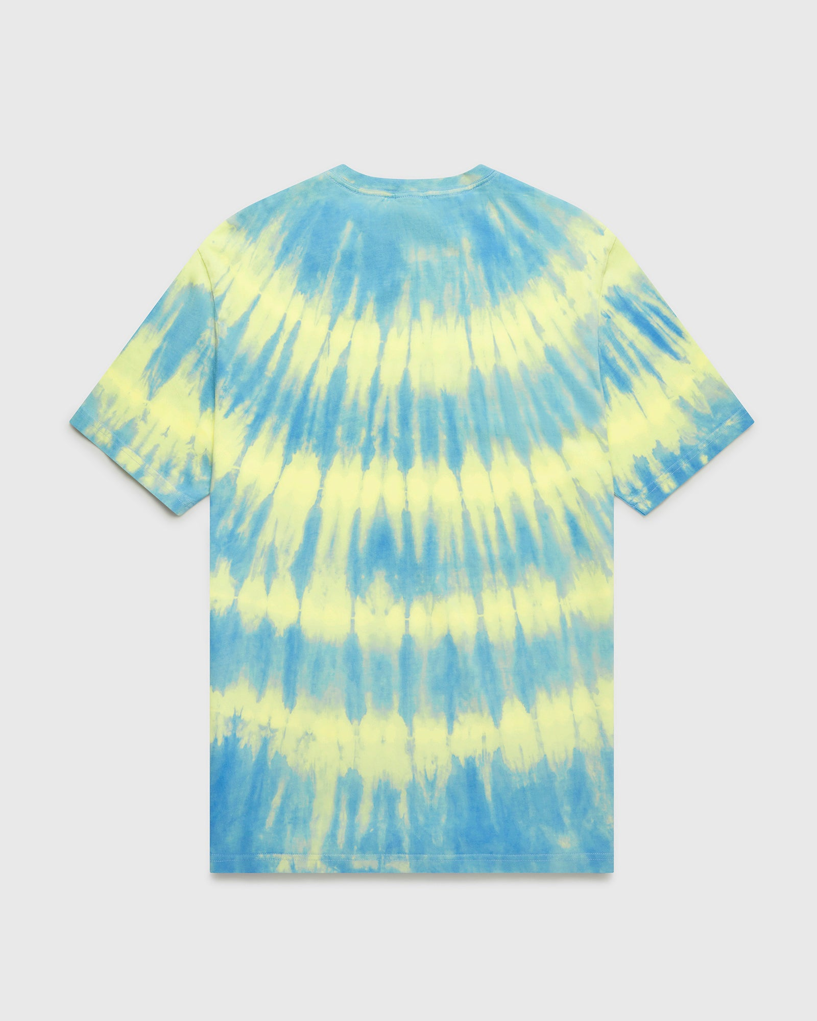 OVO MARBLE TIE DYE T-SHIRT - BLUE/YELLOW IMAGE #2