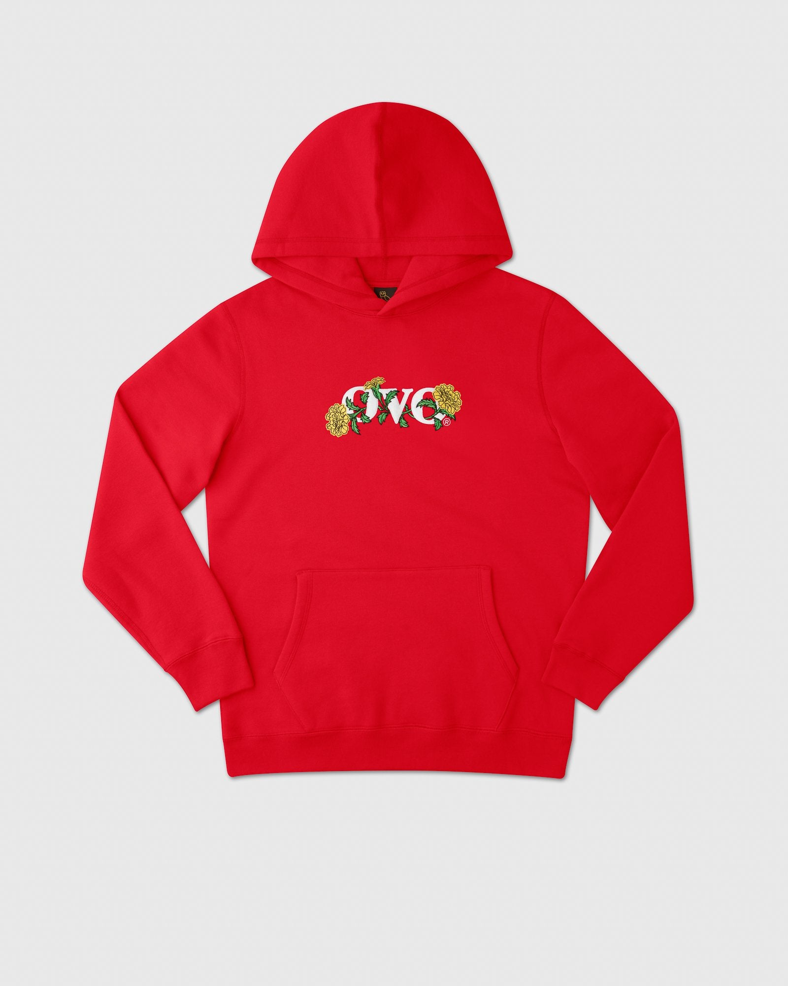 OVO MARIGOLD HOODIE - RED IMAGE #1