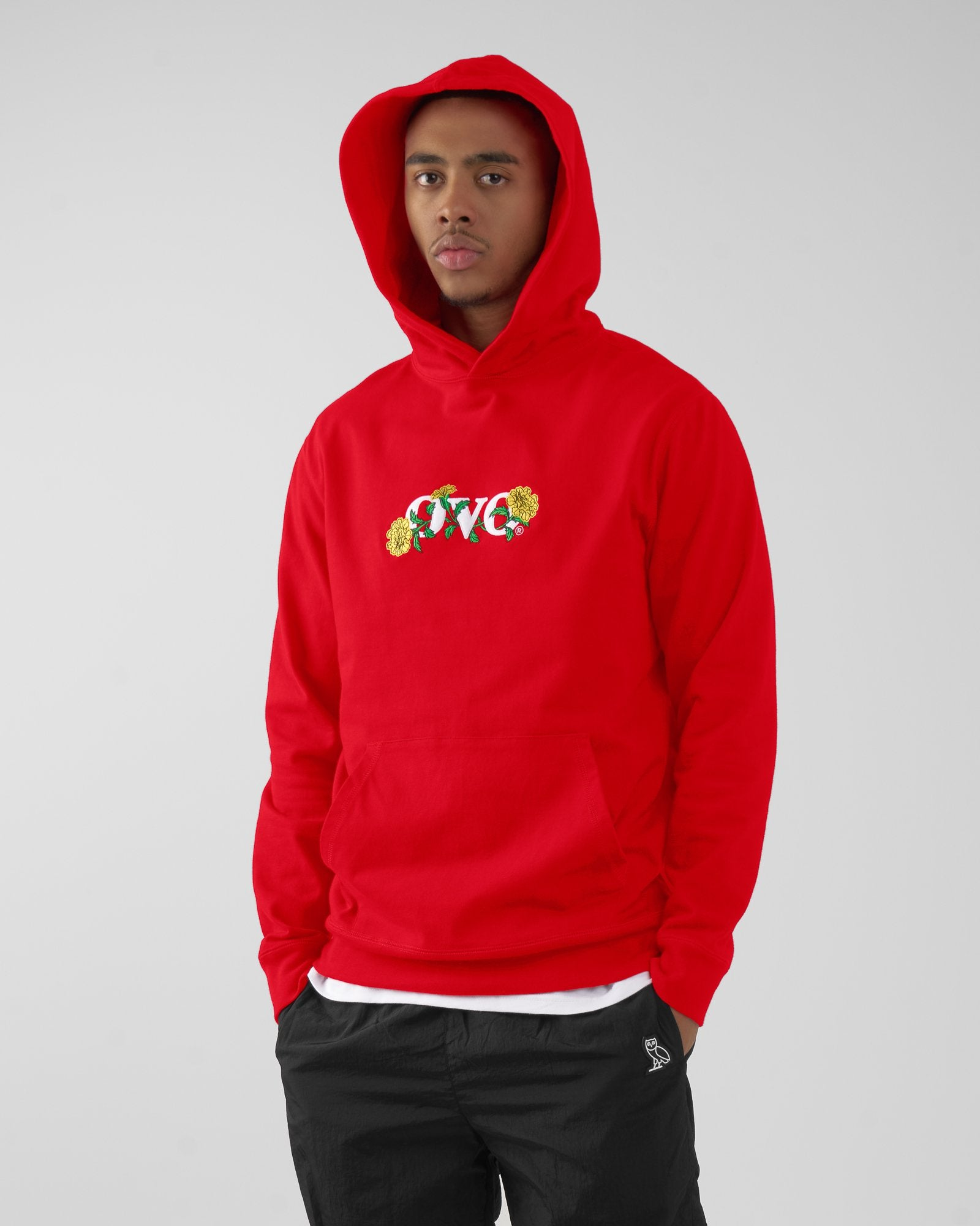 OVO MARIGOLD HOODIE - RED IMAGE #3