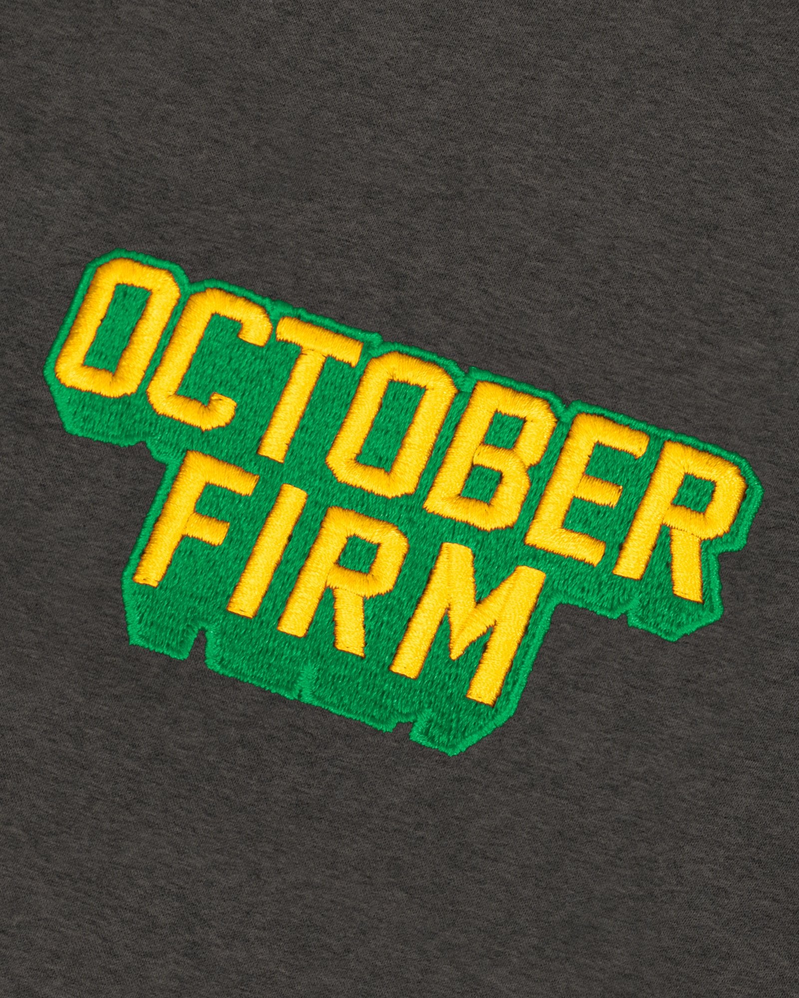 OCTOBER FIRM SHADOW HOODIE - CHARCOAL HEATHER IMAGE #4