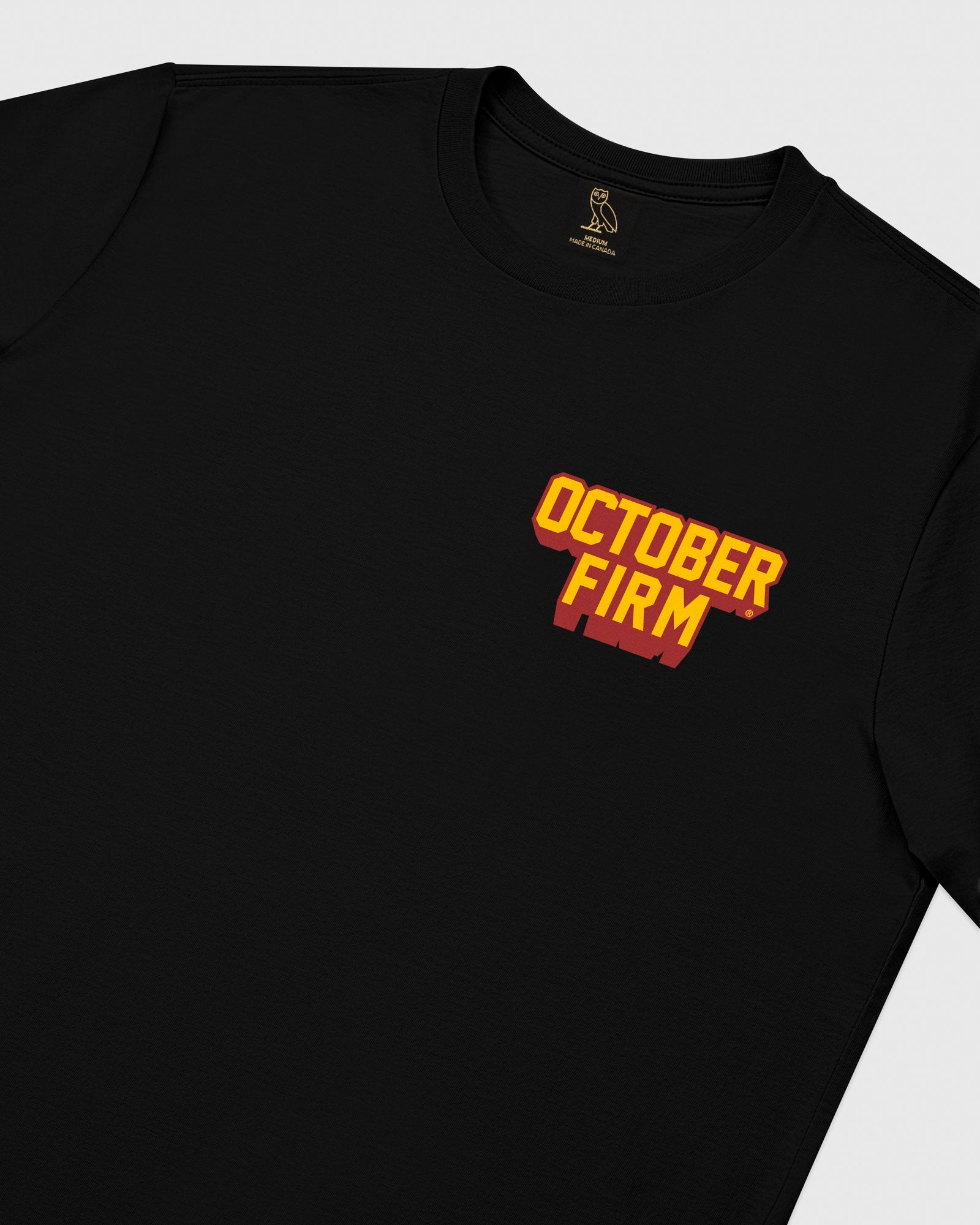 OCTOBER FIRM SHADOW LONGSLEEVE T-SHIRT - BLACK IMAGE #4