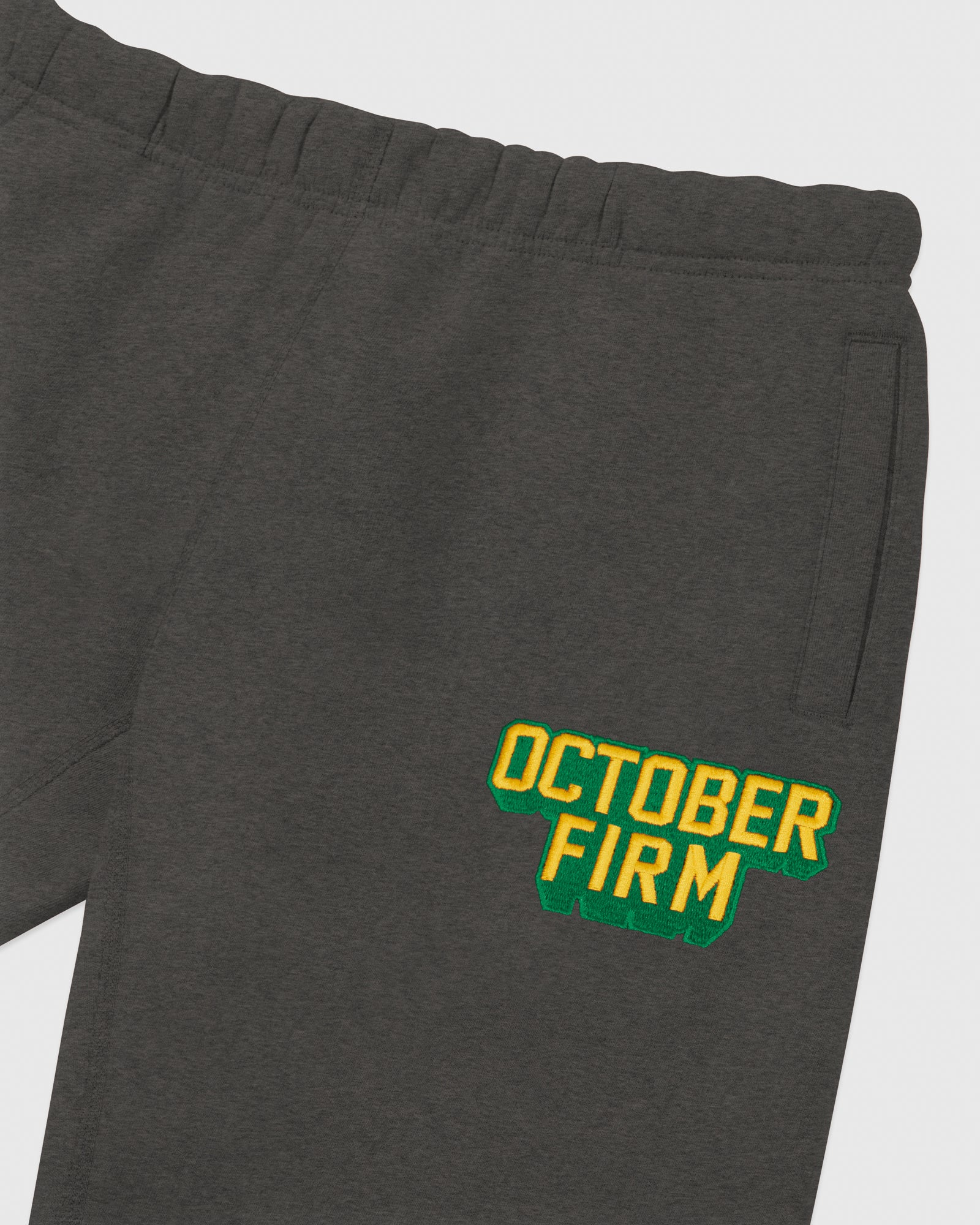 OCTOBER FIRM SHADOW SWEATPANT - CHARCOAL HEATHER IMAGE #3