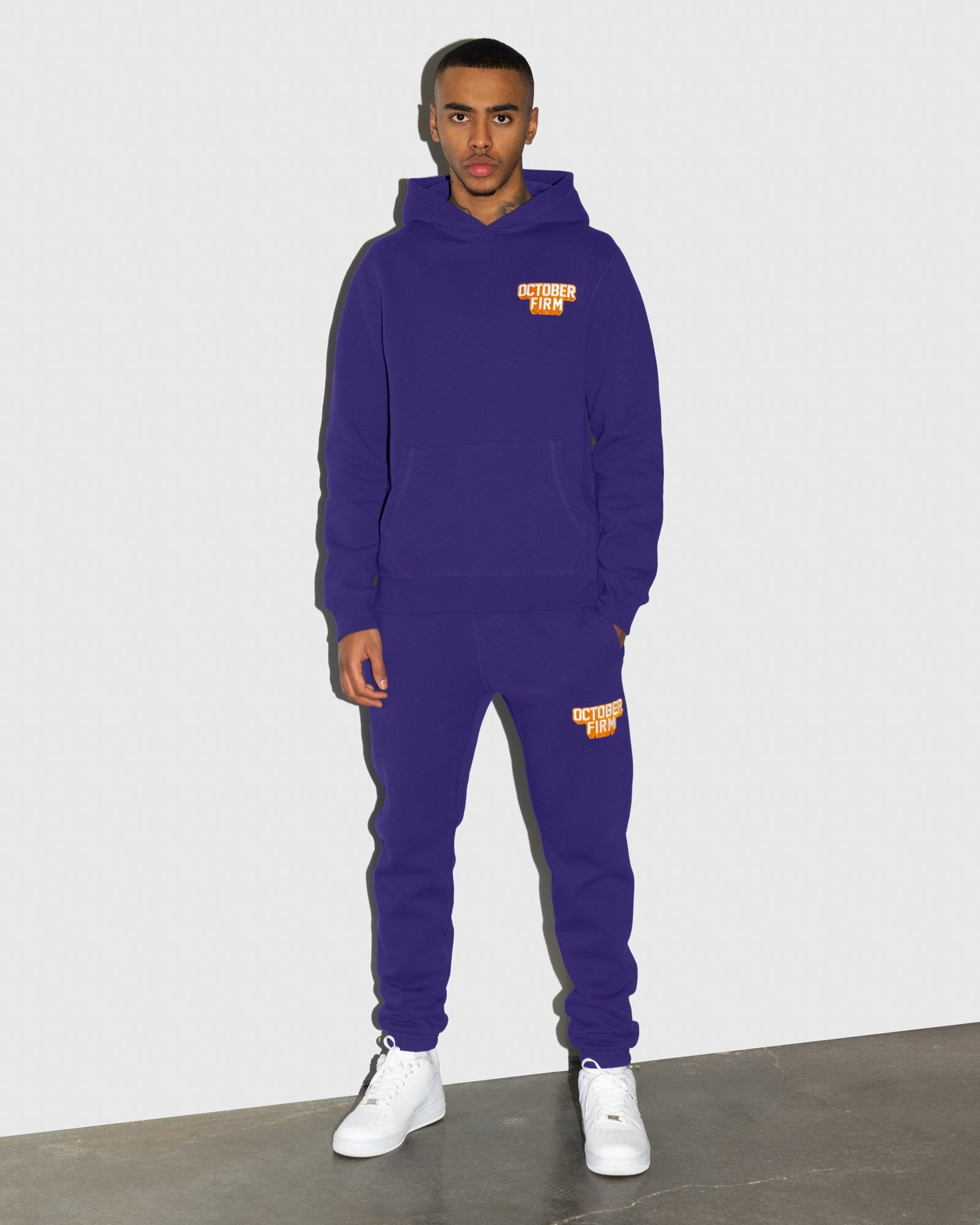 OCTOBER FIRM SHADOW SWEATPANT - PURPLE IMAGE #2