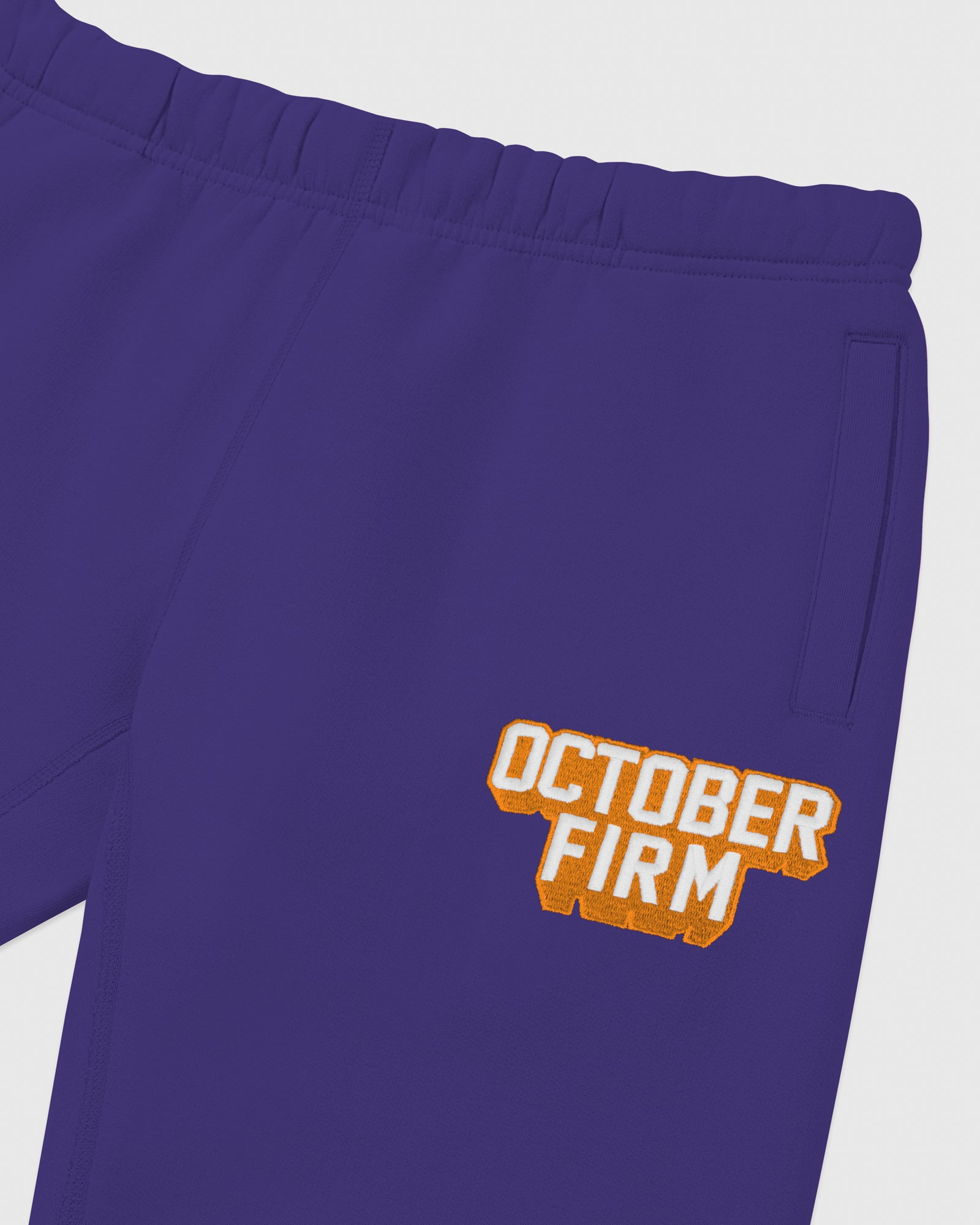 OCTOBER FIRM SHADOW SWEATPANT - PURPLE IMAGE #3