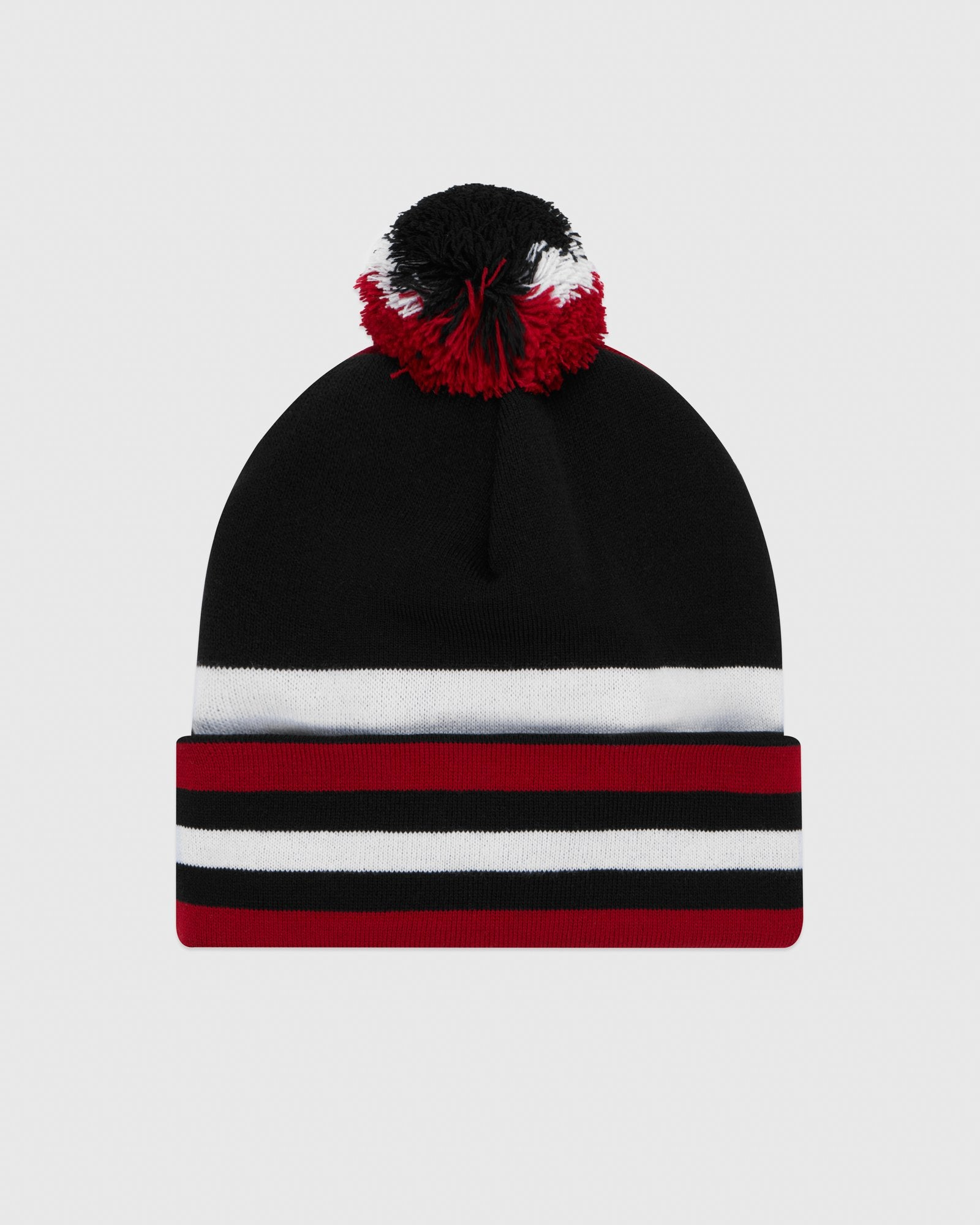 PATCHWORK TOQUE - RED IMAGE #3