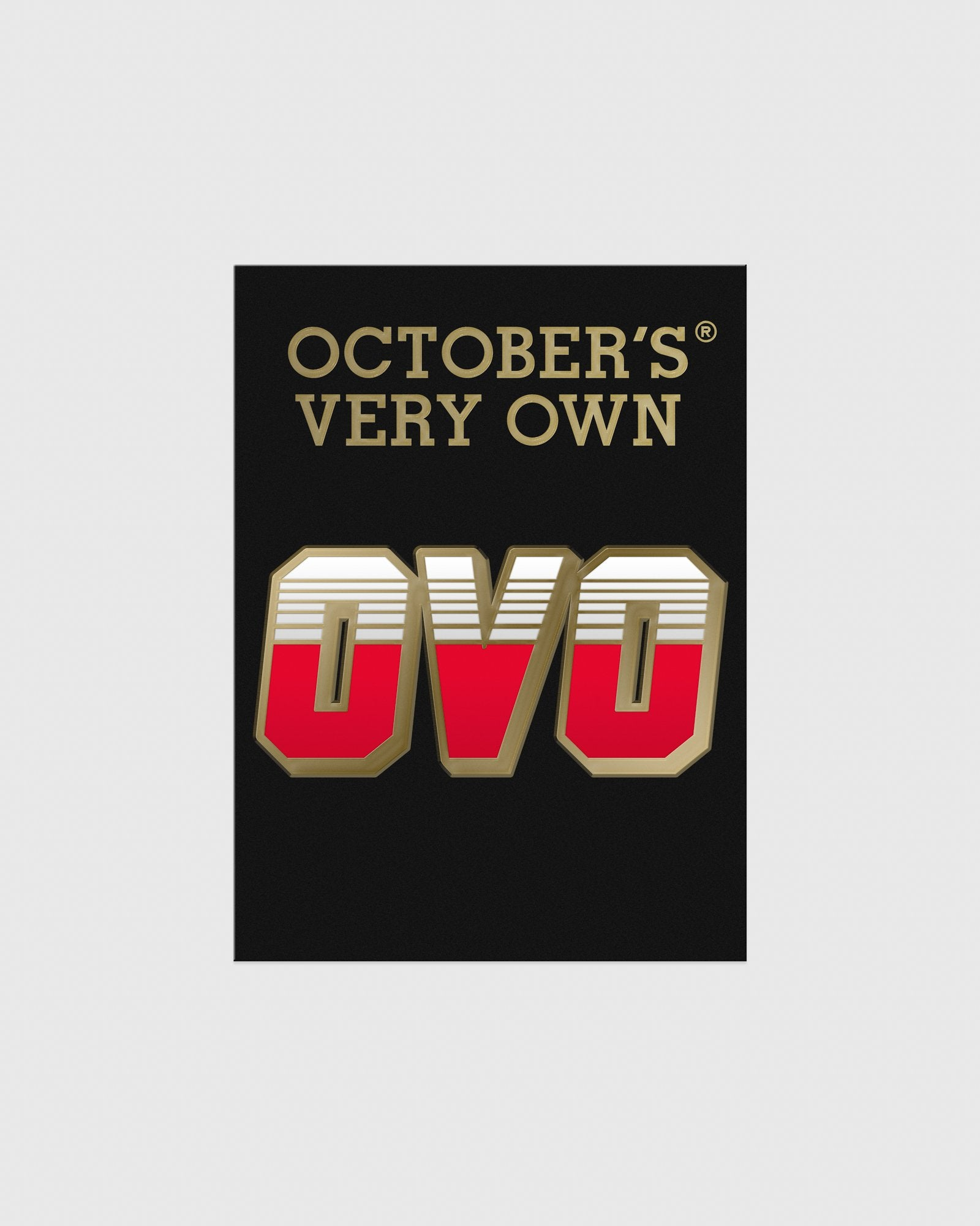 OVO RACER PIN - RED IMAGE #2