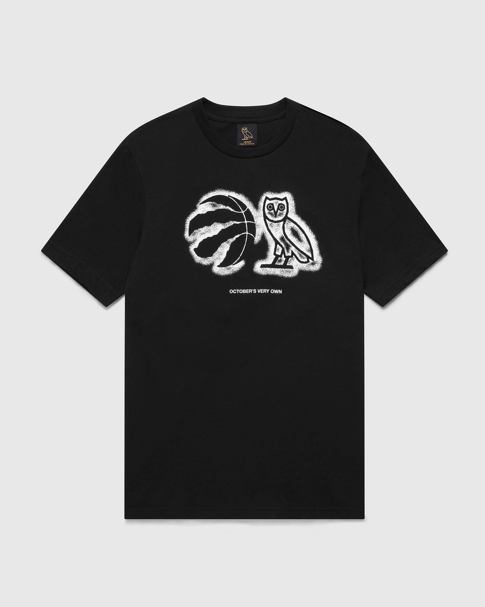 OVO ATHLETIC CENTRE T-SHIRT - BLACK IMAGE #1