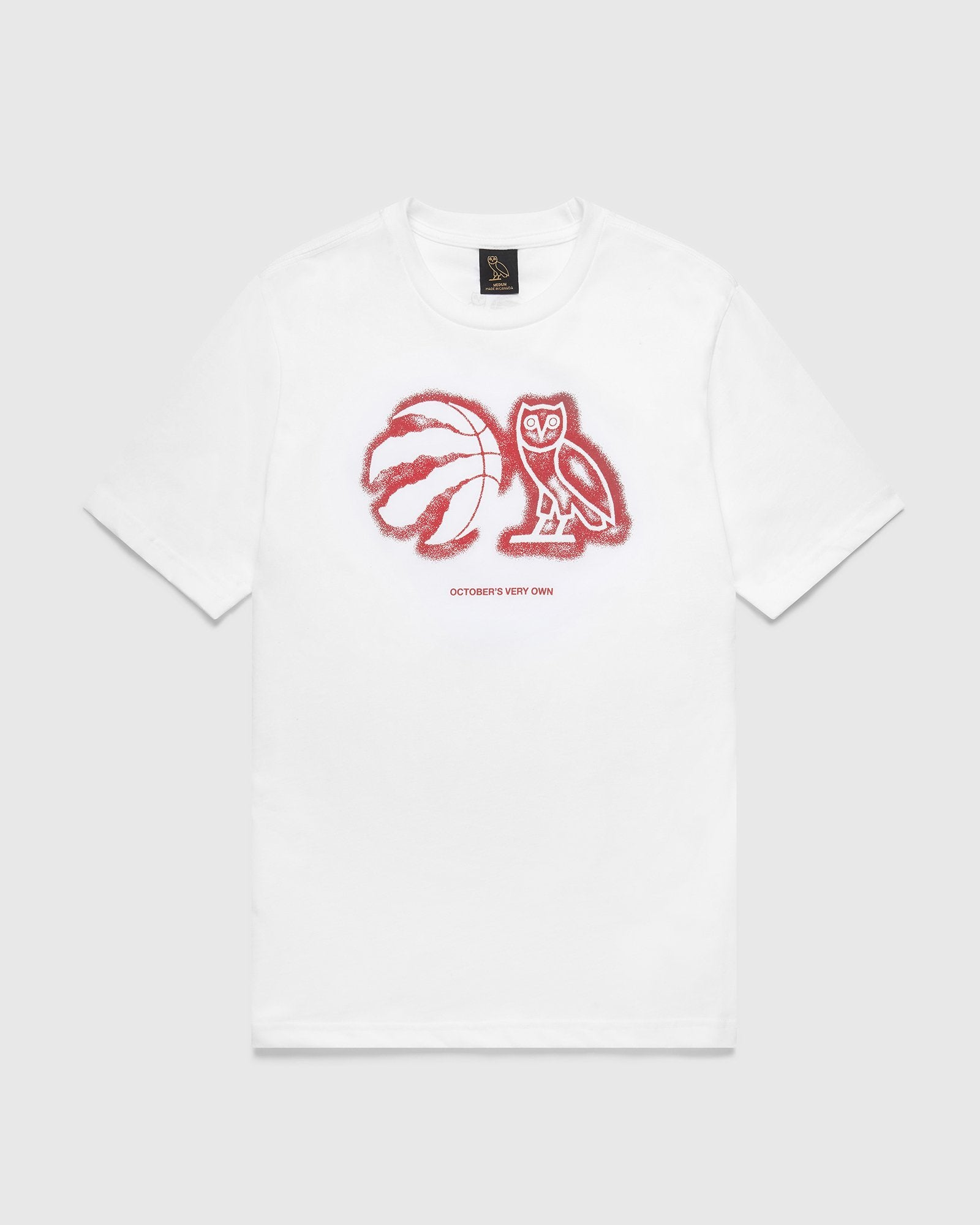 OVO ATHLETIC CENTRE T-SHIRT - WHITE IMAGE #1