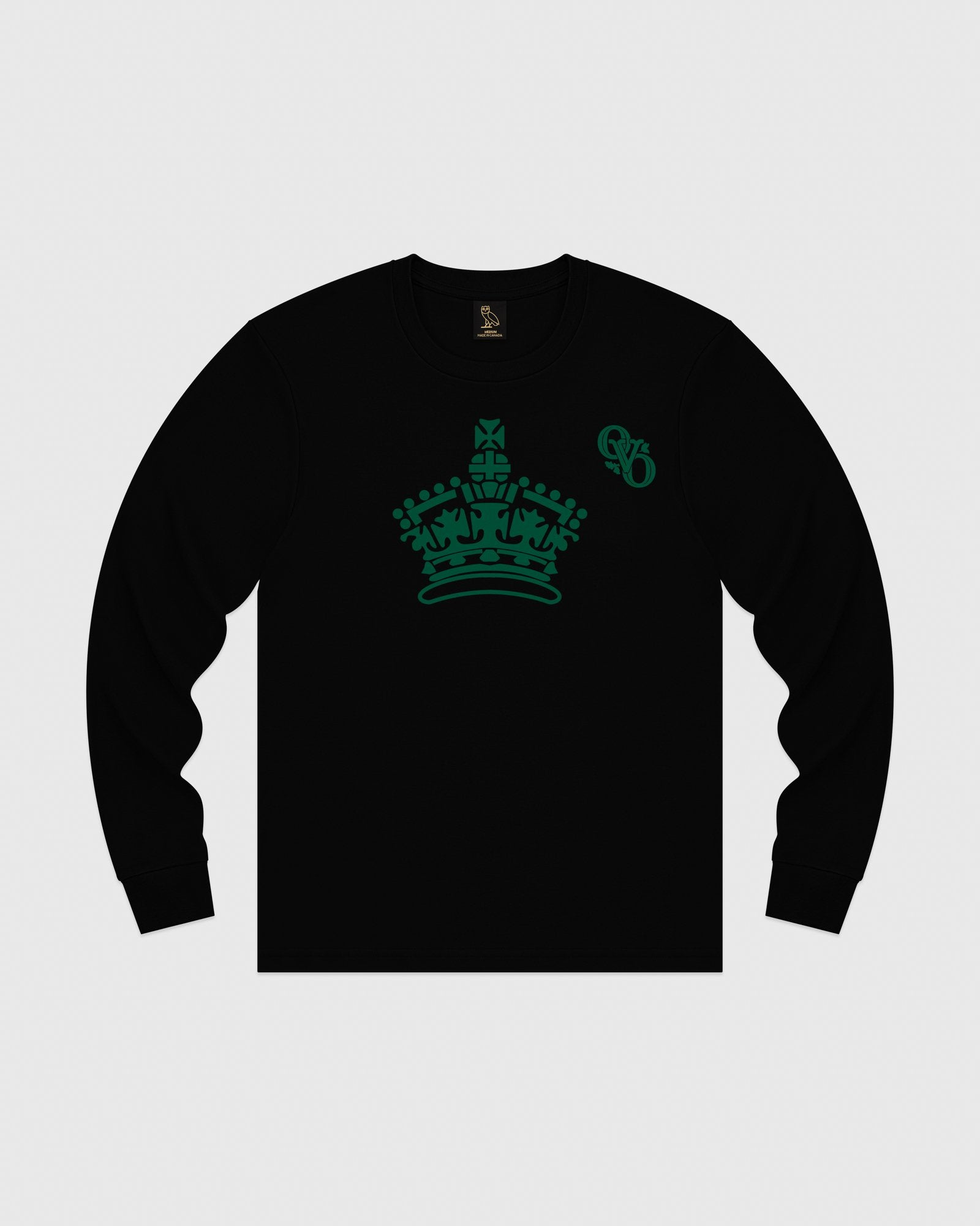 ROYAL LONGSLEEVE T-SHIRT - BLACK IMAGE #1
