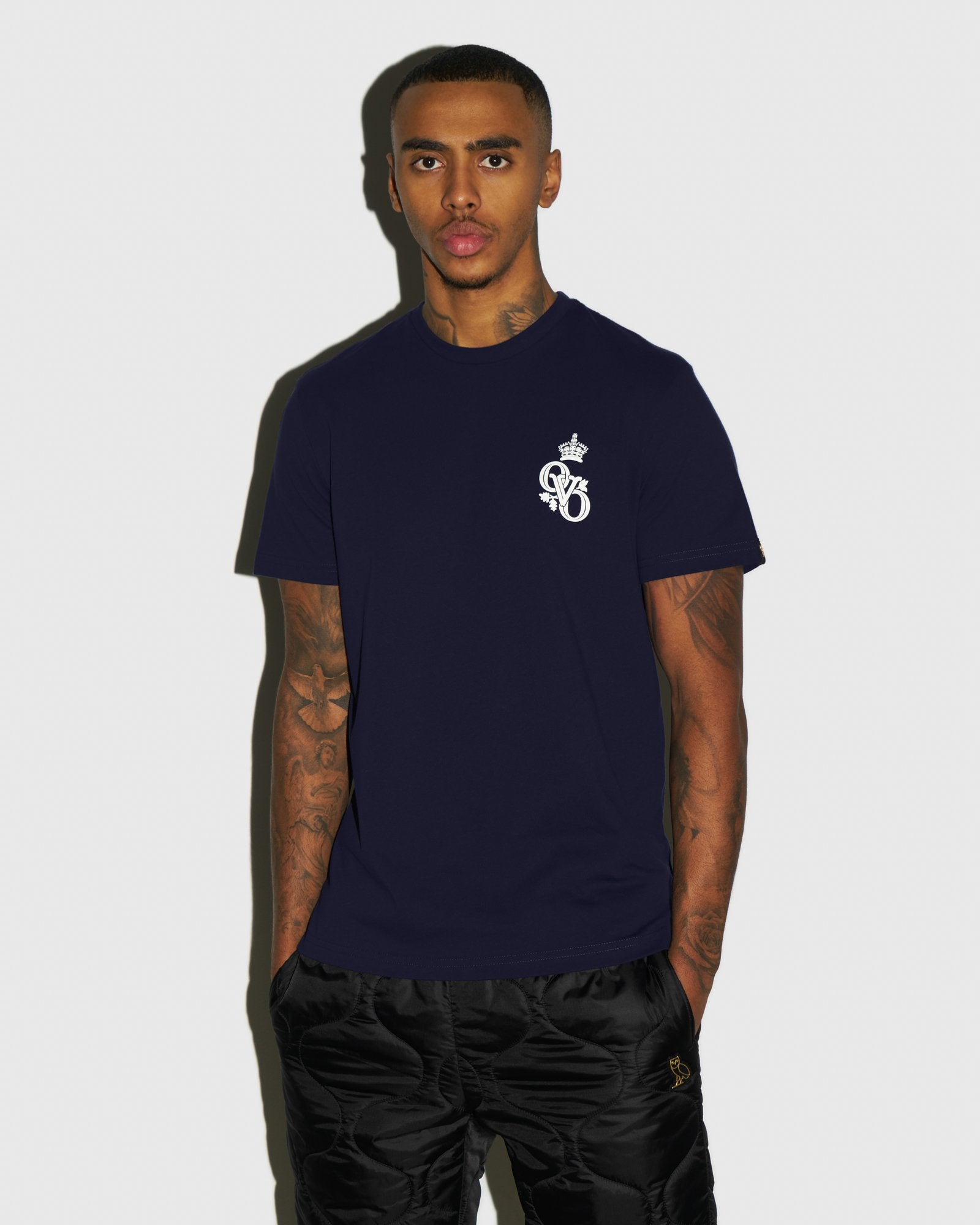 ROYAL T-SHIRT - NAVY IMAGE #2