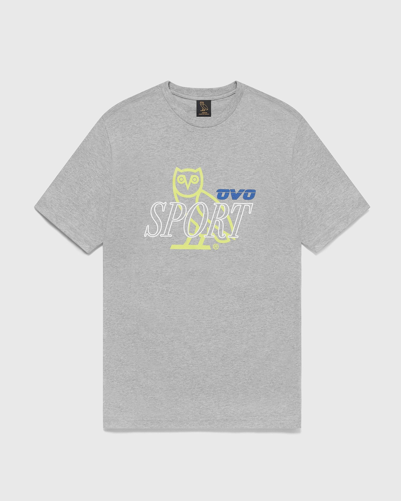 OVO SPORT T-SHIRT - HEATHER GREY IMAGE #1